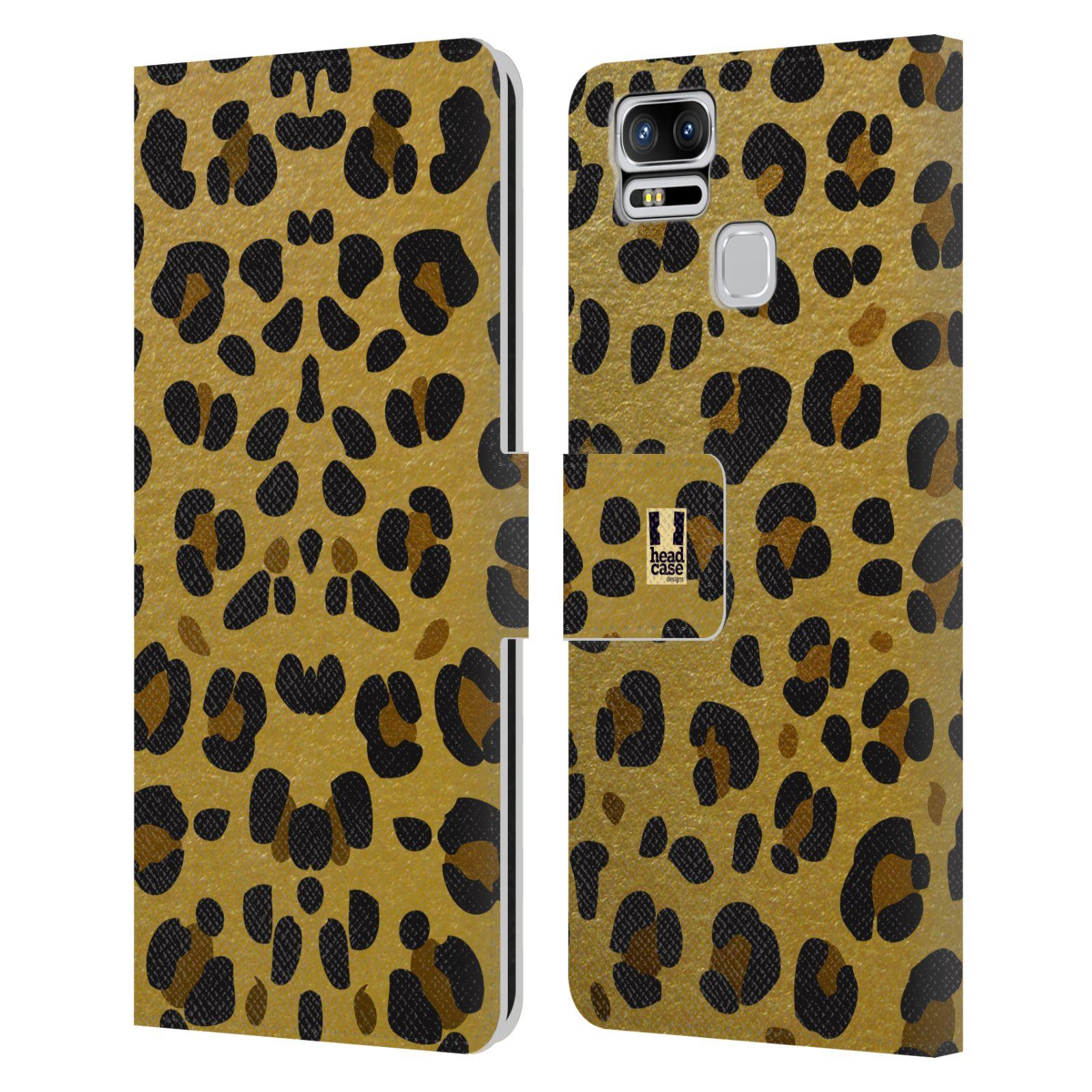 Pouzdro na mobil Asus Zenfone 3 Zoom ZE553KL - Head Case - Fashion zvířecí vzor