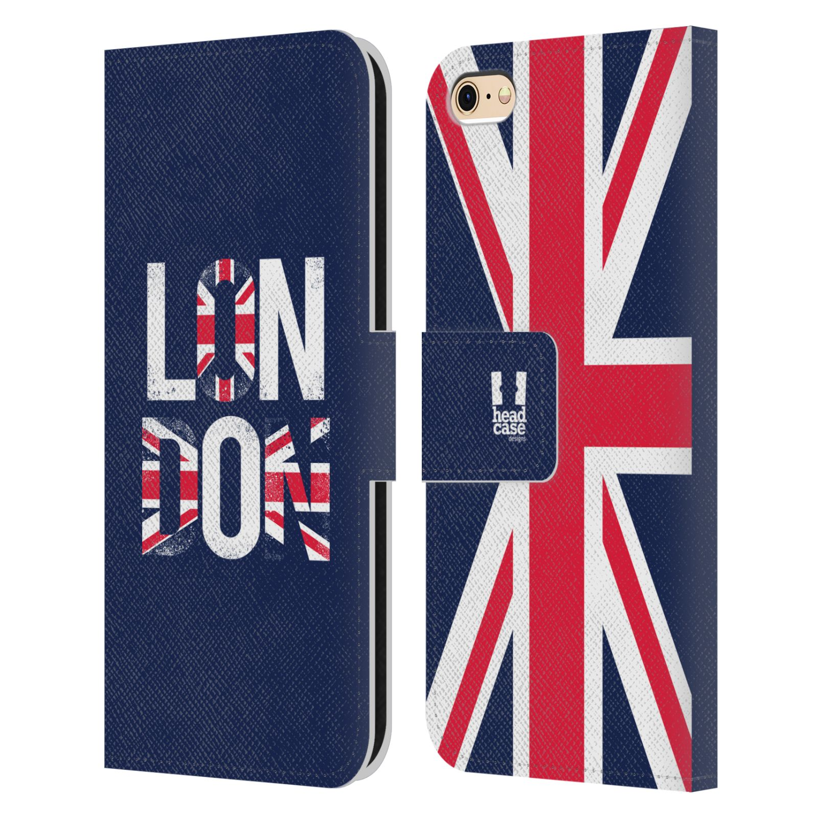 Best Book Cover For Iphone : Head case designs london best leather book wallet for
