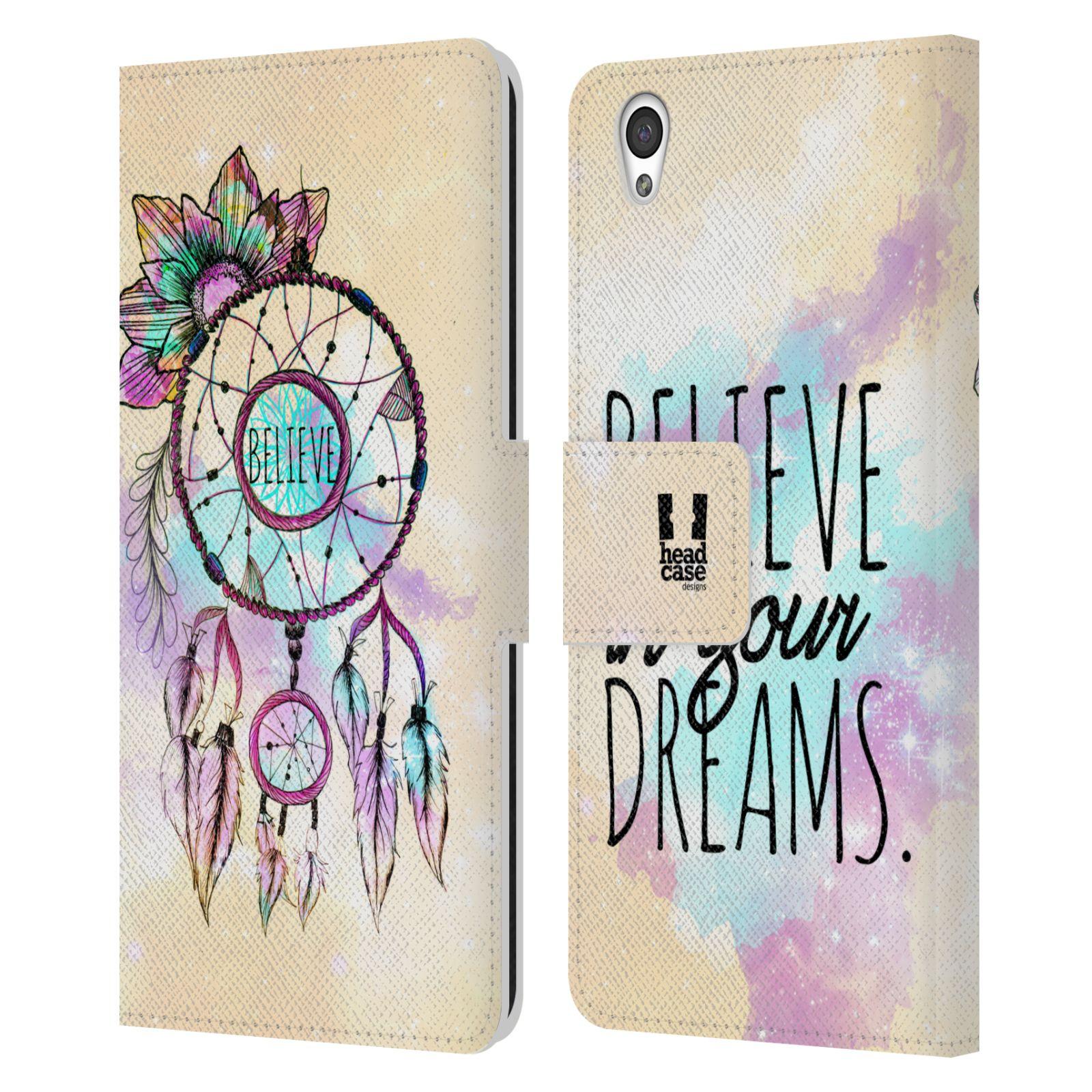Pouzdro na mobil OnePlus X - Head Case - Lapač snů - květy fialová