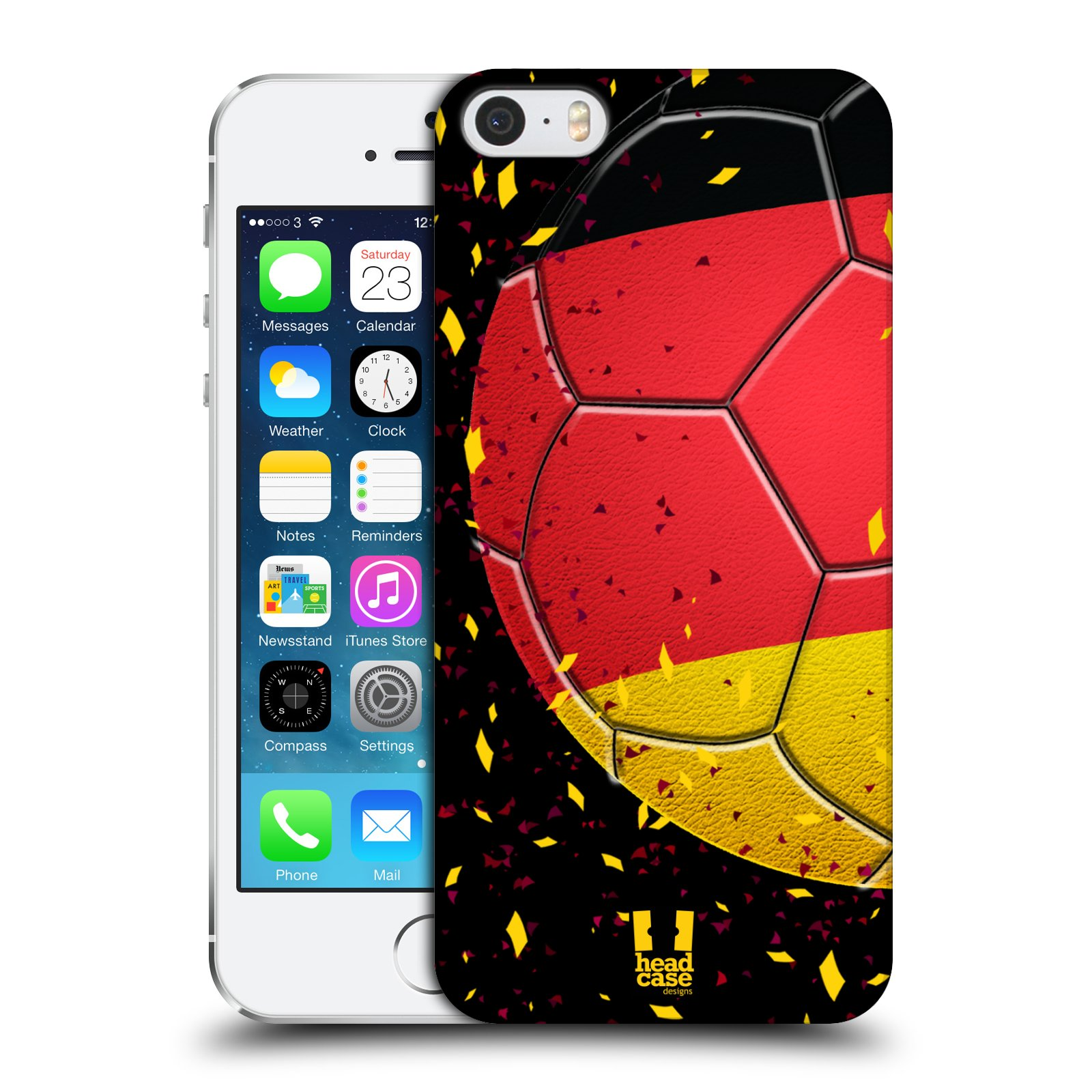 Plastové pouzdro pro mobil Apple Iphone 5 / 5S / SE Sport fotbal mistrovský míč