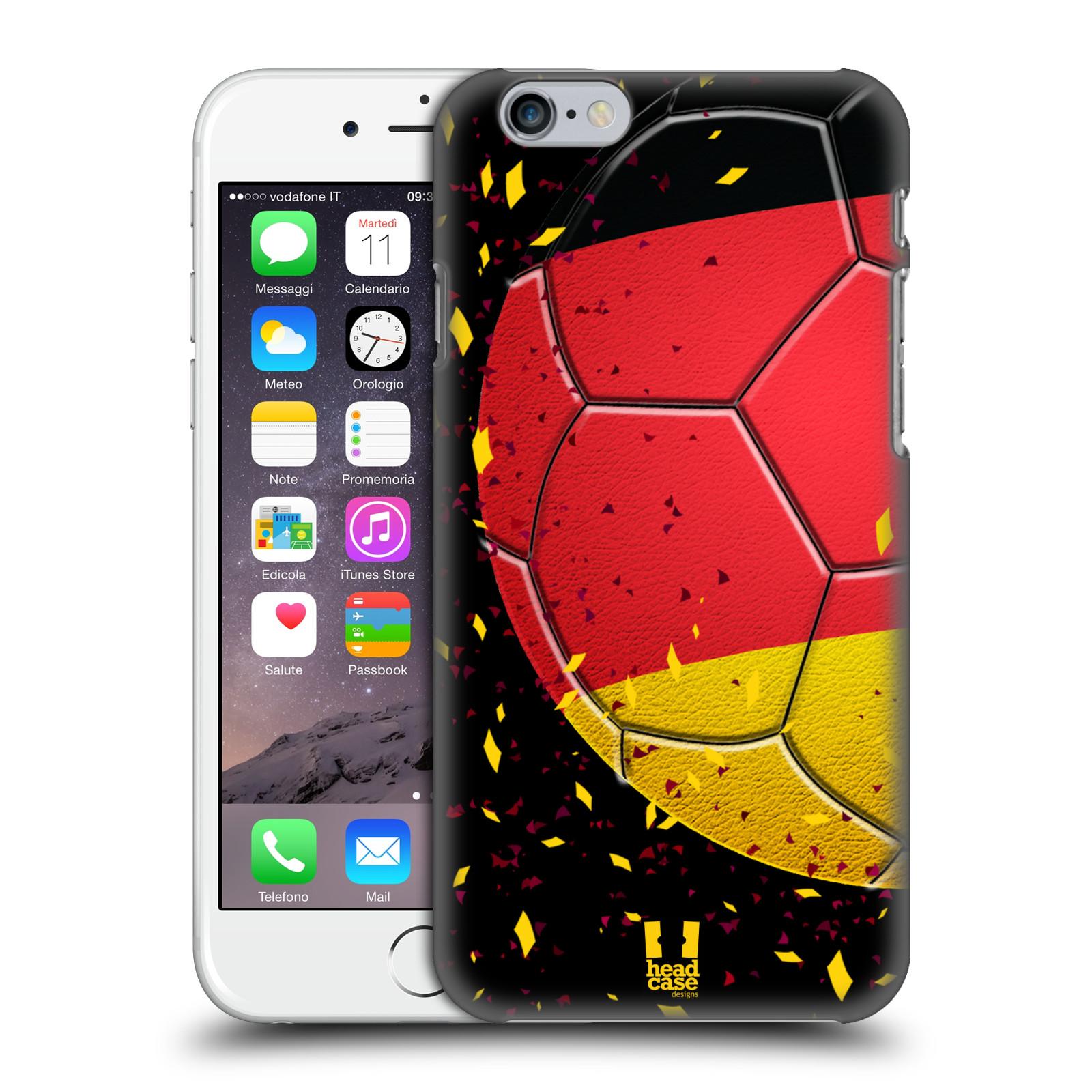 Plastové pouzdro pro mobil Apple Iphone 6/6S Sport fotbal mistrovský míč