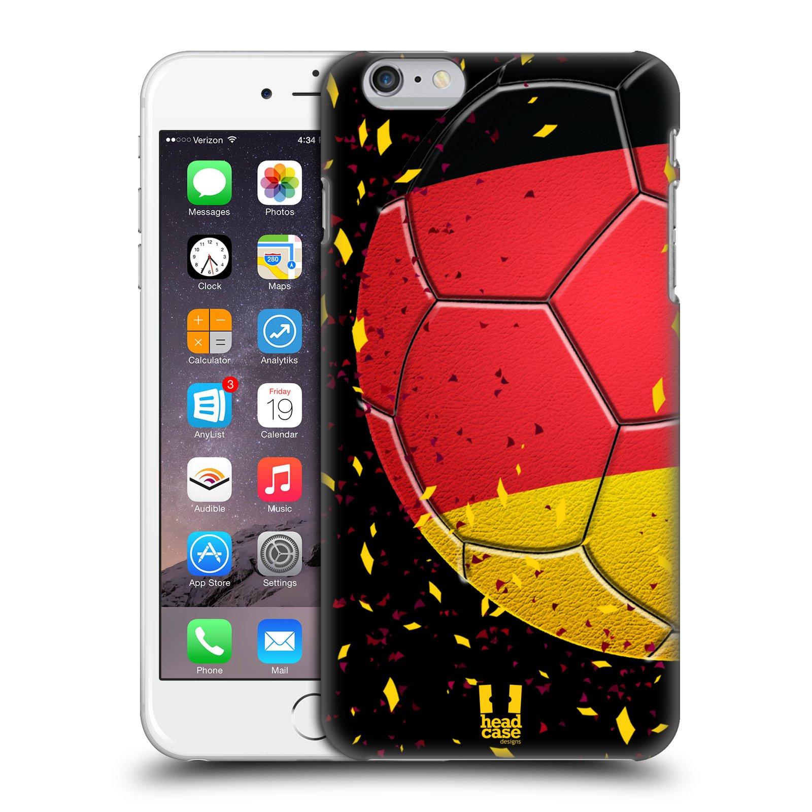 Plastové pouzdro pro mobil Apple Iphone 6 PLUS / 6S PLUS Sport fotbal mistrovský míč