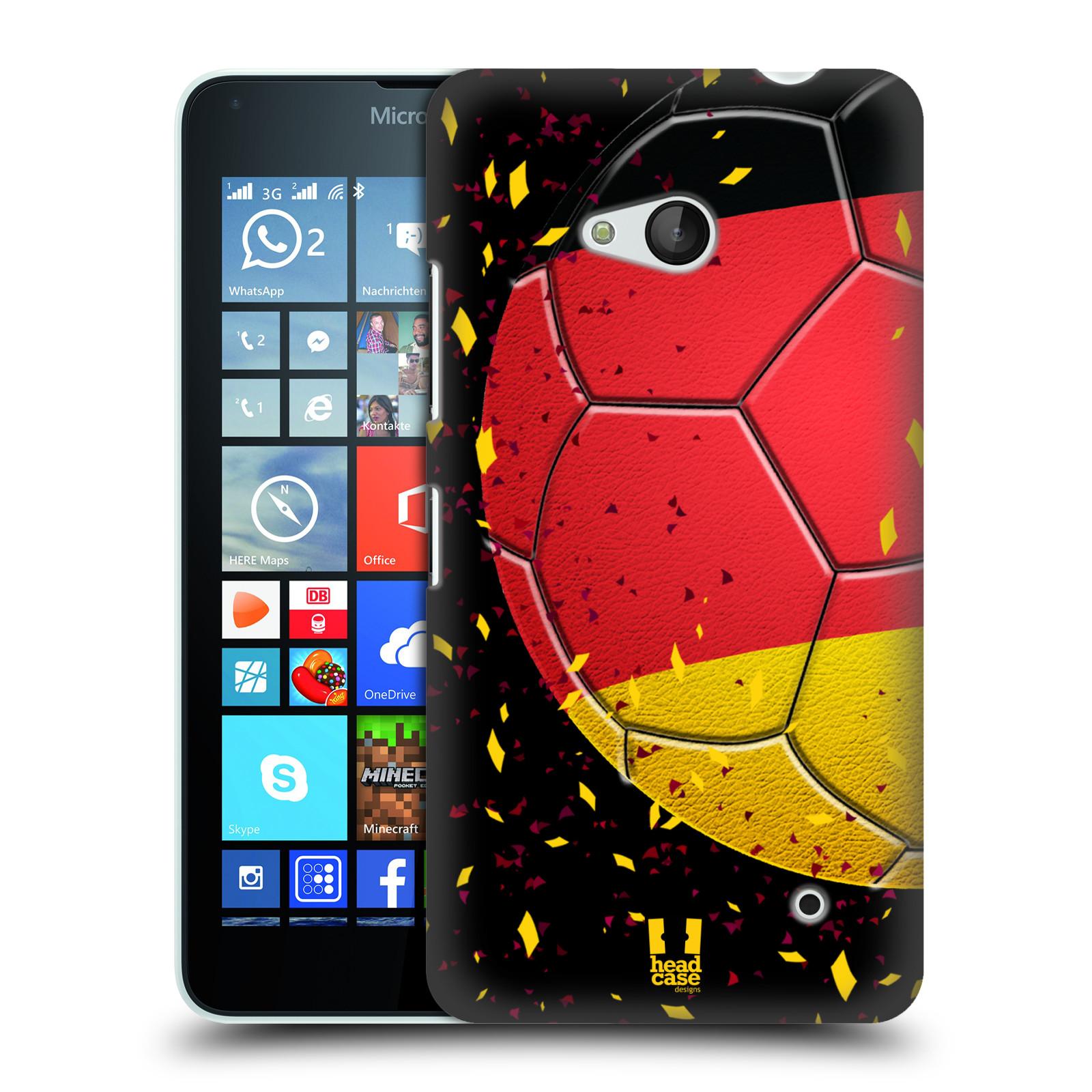 HEAD CASE plastový obal na mobil Nokia Lumia 640 Sport fotbal mistrovský míč