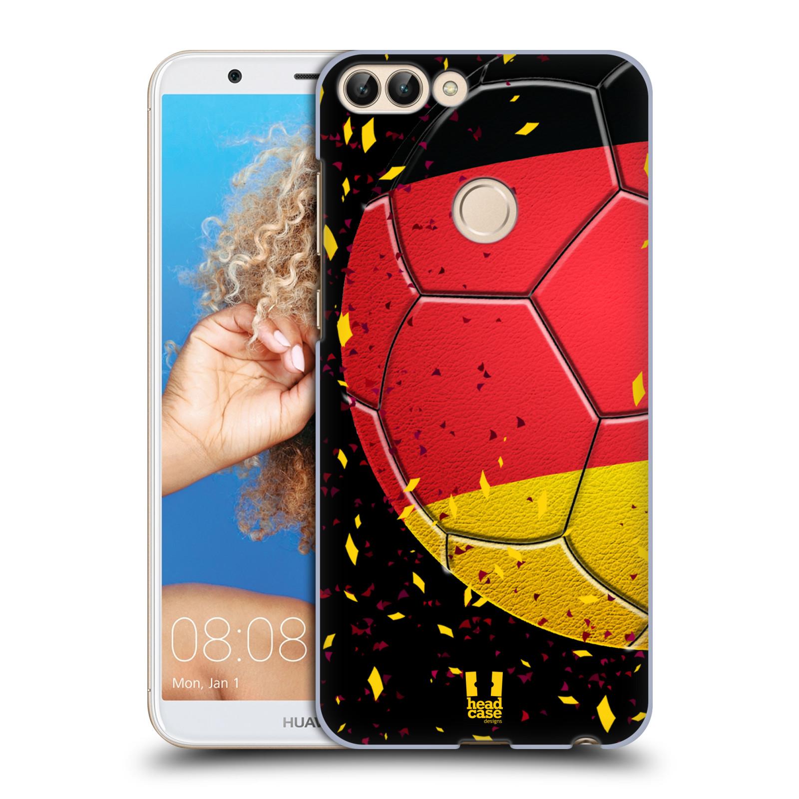 HEAD CASE plastový obal na mobil Huawei P Smart Sport fotbal mistrovský míč