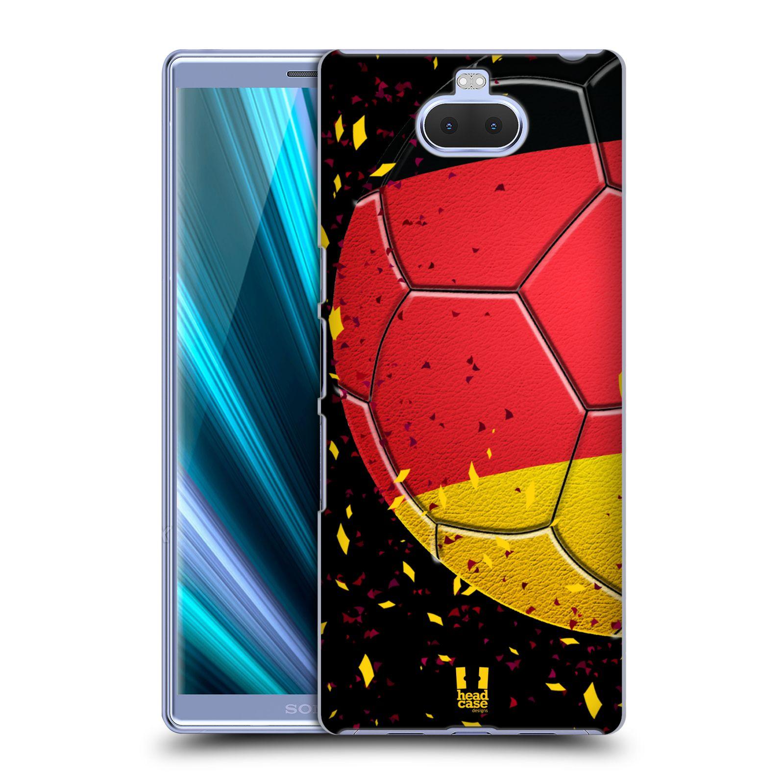 Pouzdro na mobil Sony Xperia 10 Plus - Head Case - Sport fotbal mistrovský míč