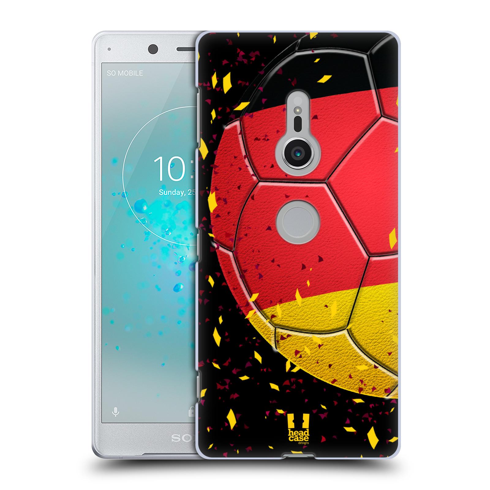 HEAD CASE plastový obal na mobil Sony Xperia XZ2 Sport fotbal mistrovský míč