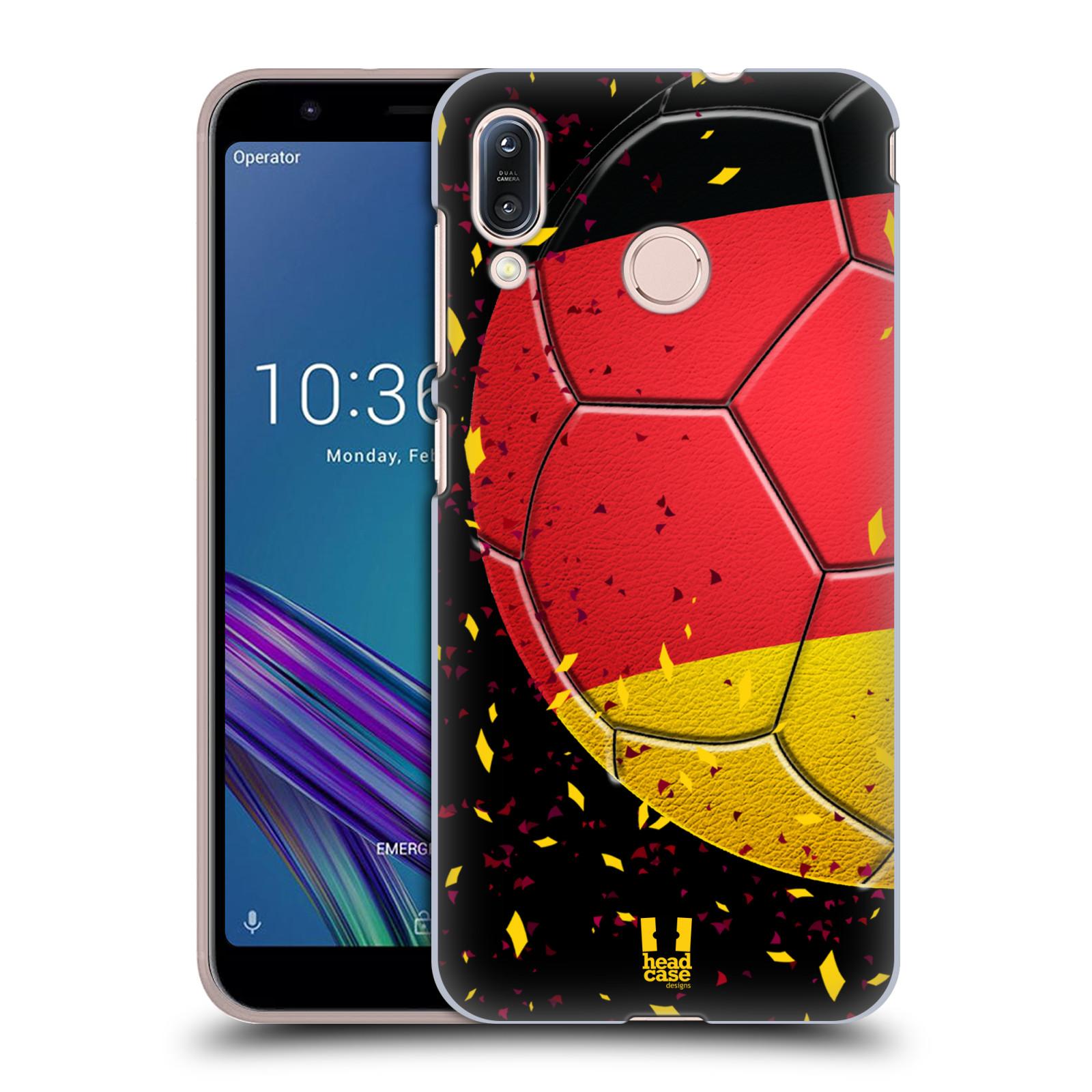 Pouzdro na mobil Asus Zenfone Max M1 (ZB555KL) - HEAD CASE - Sport fotbal mistrovský míč