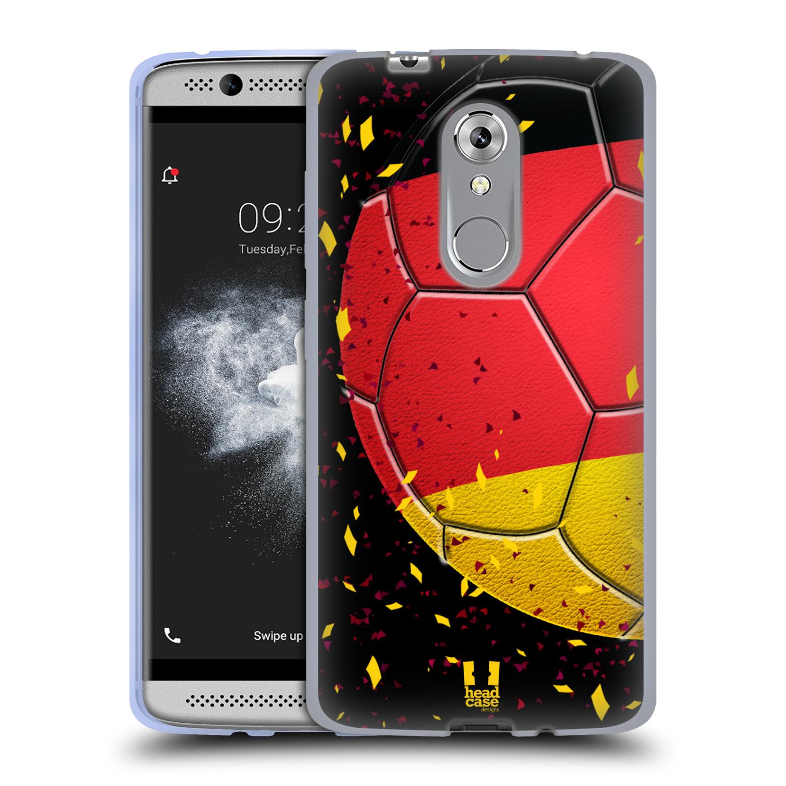 HEAD CASE silikonový obal na mobil ZTE Axon 7 MINI Sport fotbal mistrovský míč