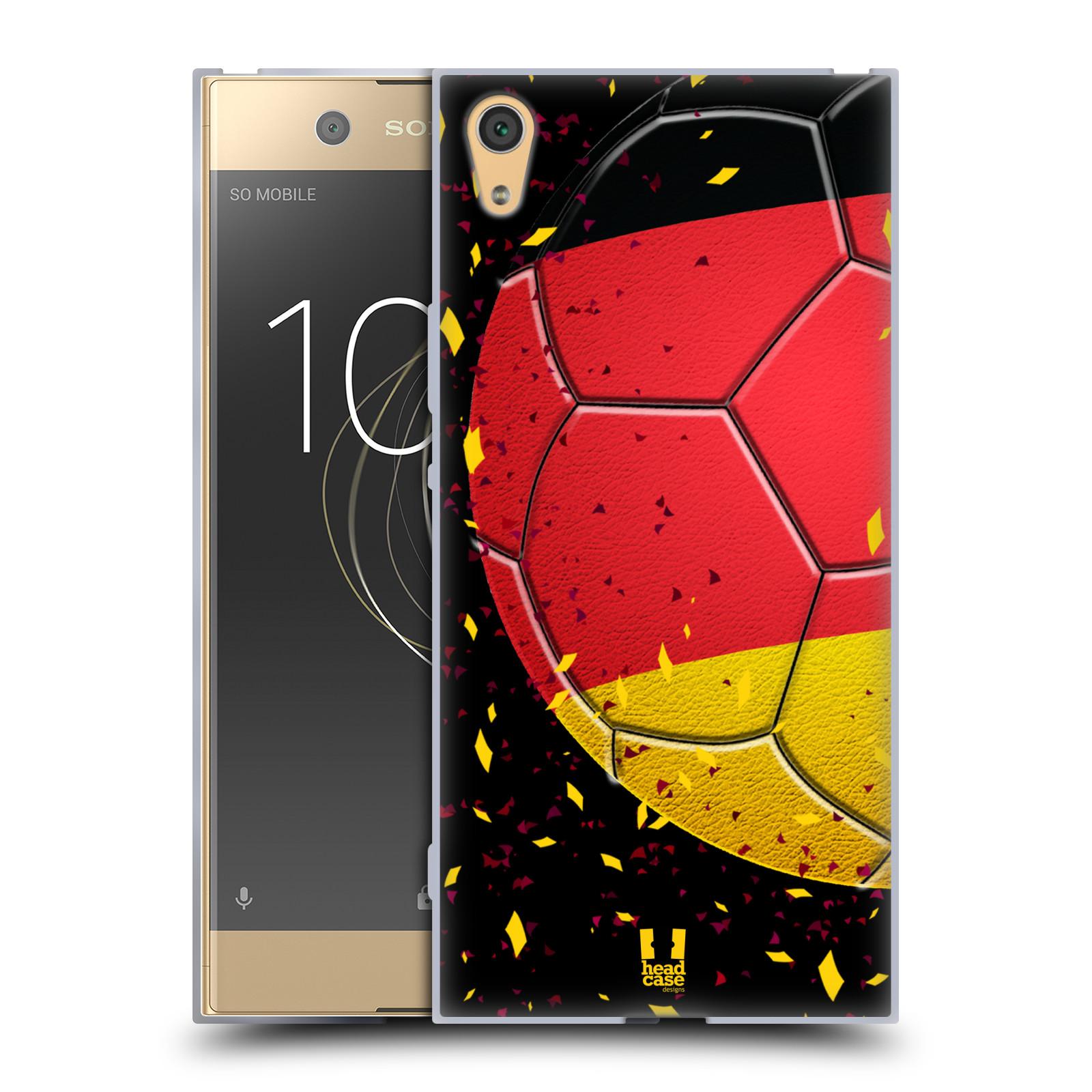 HEAD CASE silikonový obal na mobil Sony Xperia XA1 ULTRA Sport fotbal mistrovský míč