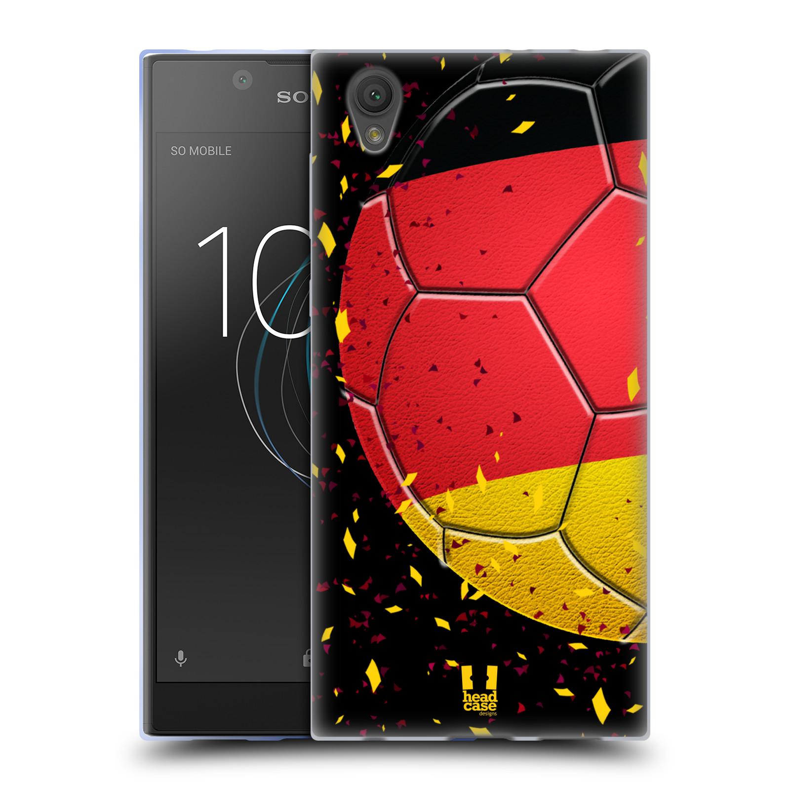 HEAD CASE silikonový obal na mobil Sony Xperia L1 Sport fotbal mistrovský míč