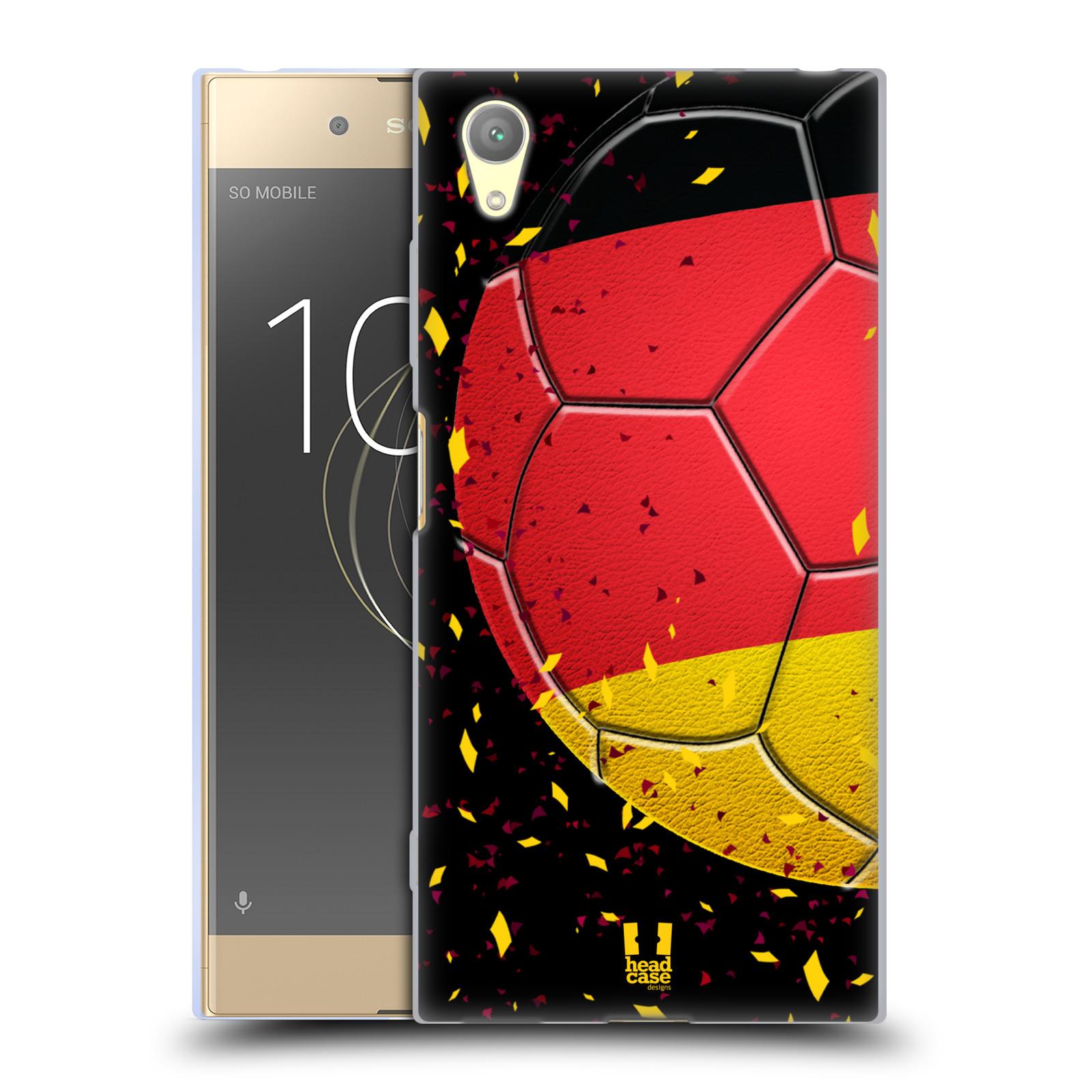HEAD CASE silikonový obal na mobil Sony Xperia XA1 PLUS Sport fotbal mistrovský míč