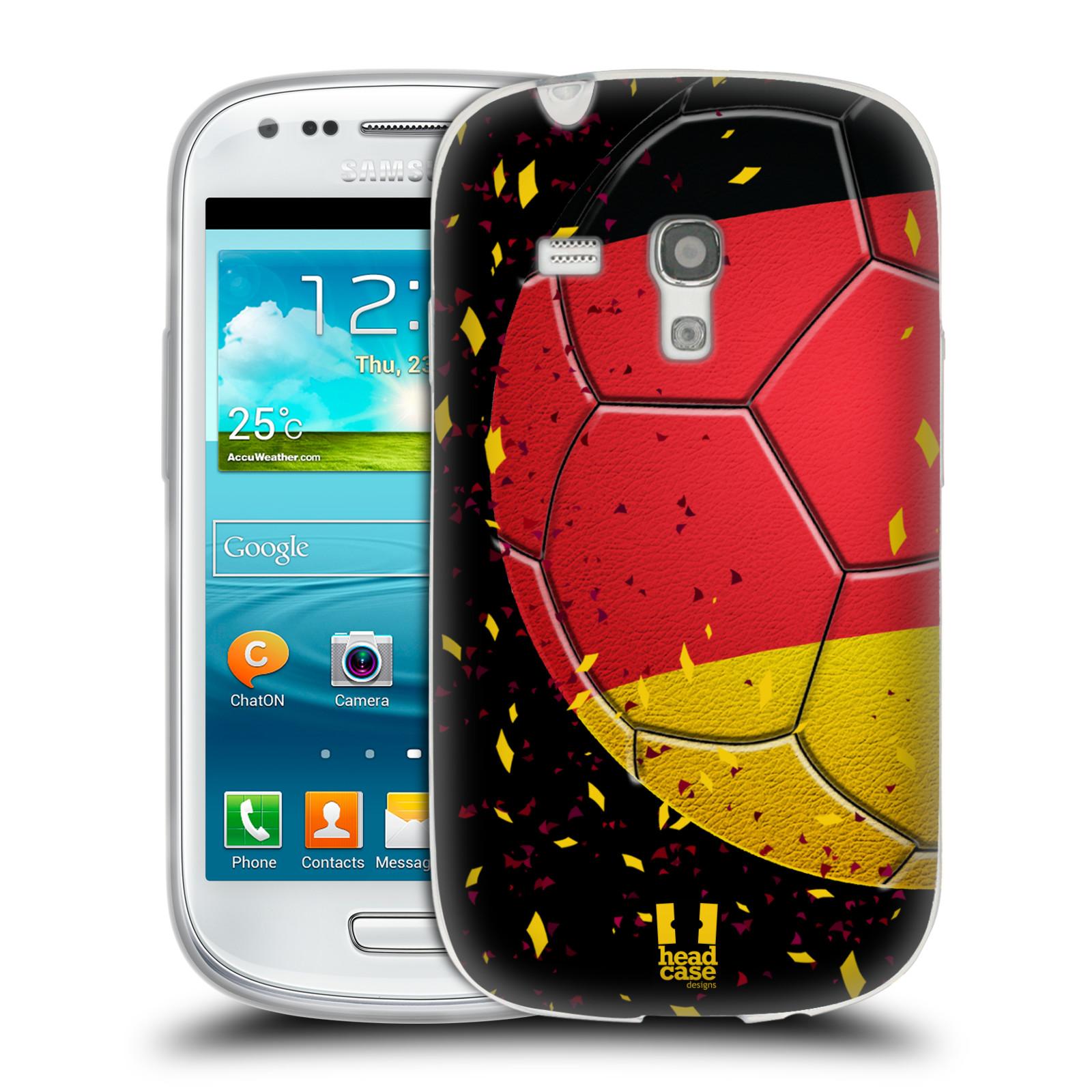 HEAD CASE silikonový obal na mobil Samsung Galaxy S3 MINI Sport fotbal mistrovský míč