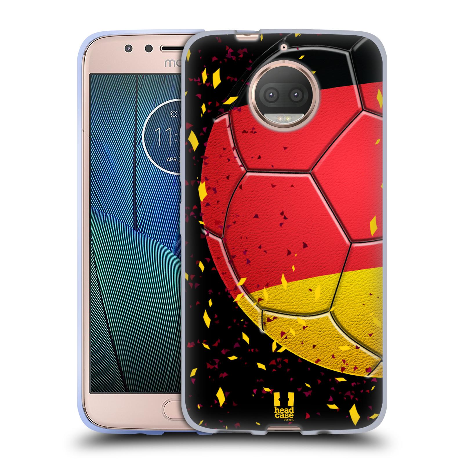 HEAD CASE silikonový obal na mobil Lenovo Moto G5s PLUS Sport fotbal mistrovský míč