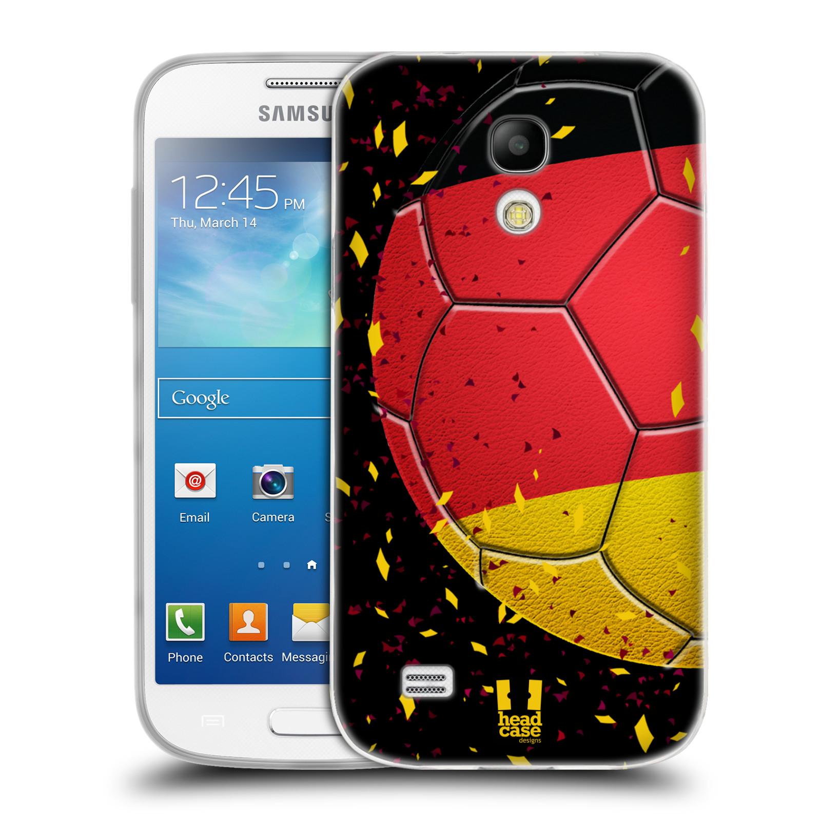 HEAD CASE silikonový obal na mobil Samsung Galaxy S4 MINI Sport fotbal mistrovský míč