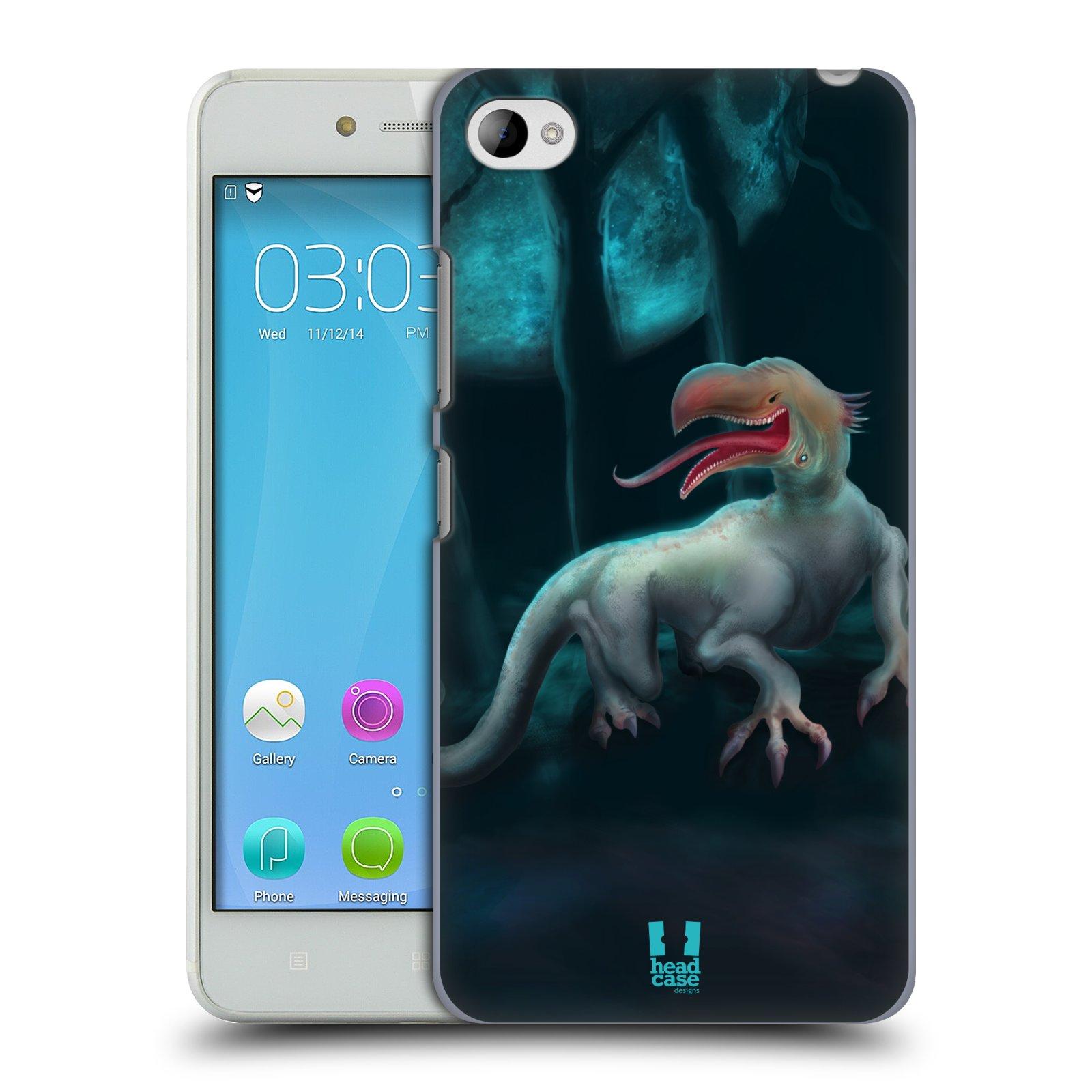 HEAD CASE pevný plastový obal na mobil LENOVO S90 vzor Pohádkové příšery ORLÍ HLAVA