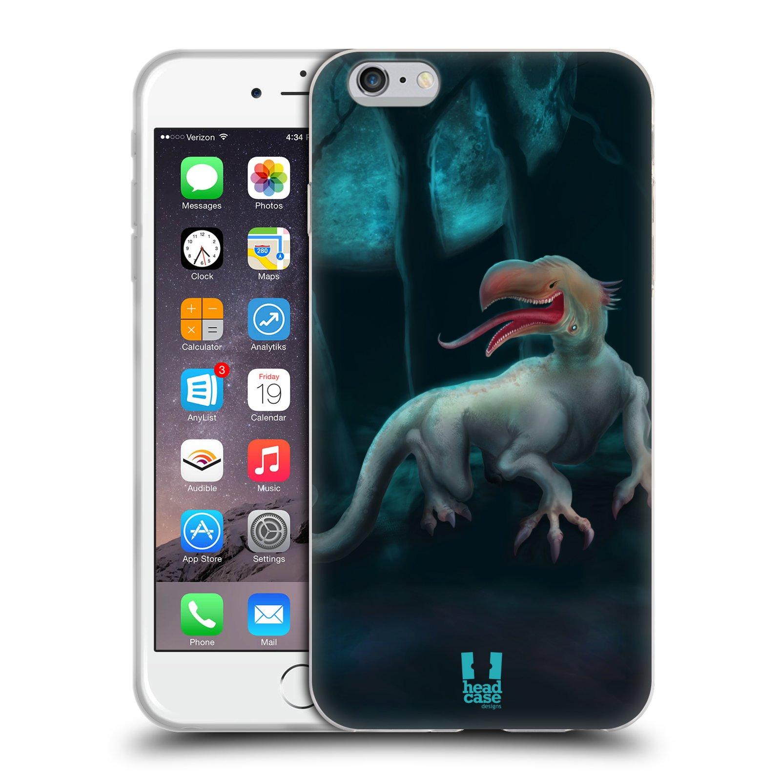 HEAD CASE silikonový obal na mobil Apple Iphone 6 PLUS/ 6S PLUS vzor Pohádkové příšery ORLÍ HLAVA