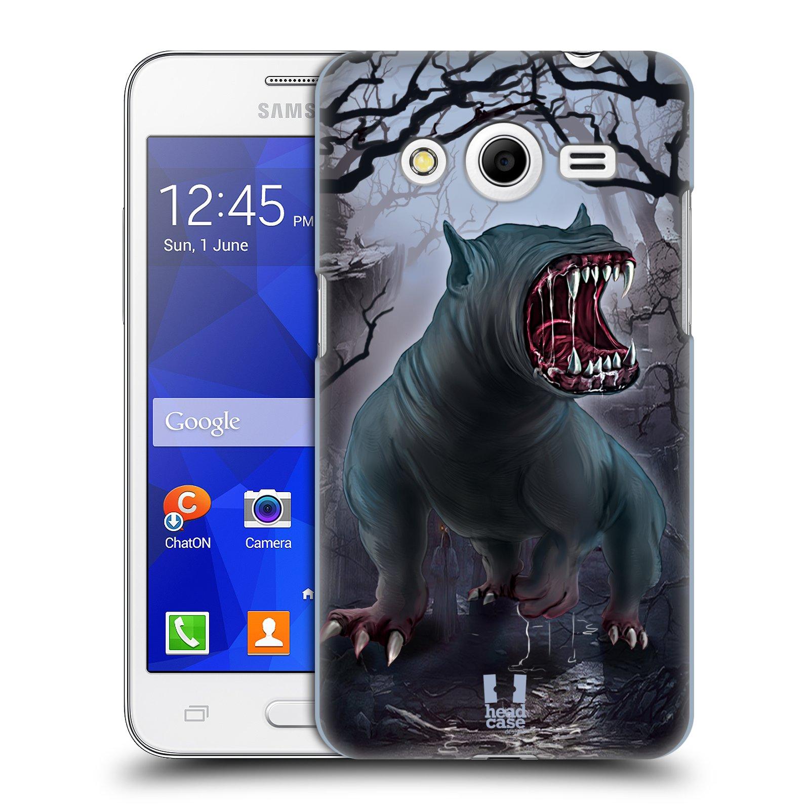 c487df7f8 HEAD CASE plastový obal na mobil SAMSUNG GALAXY Core 2 (G355H) vzor  Pohádkové příšery
