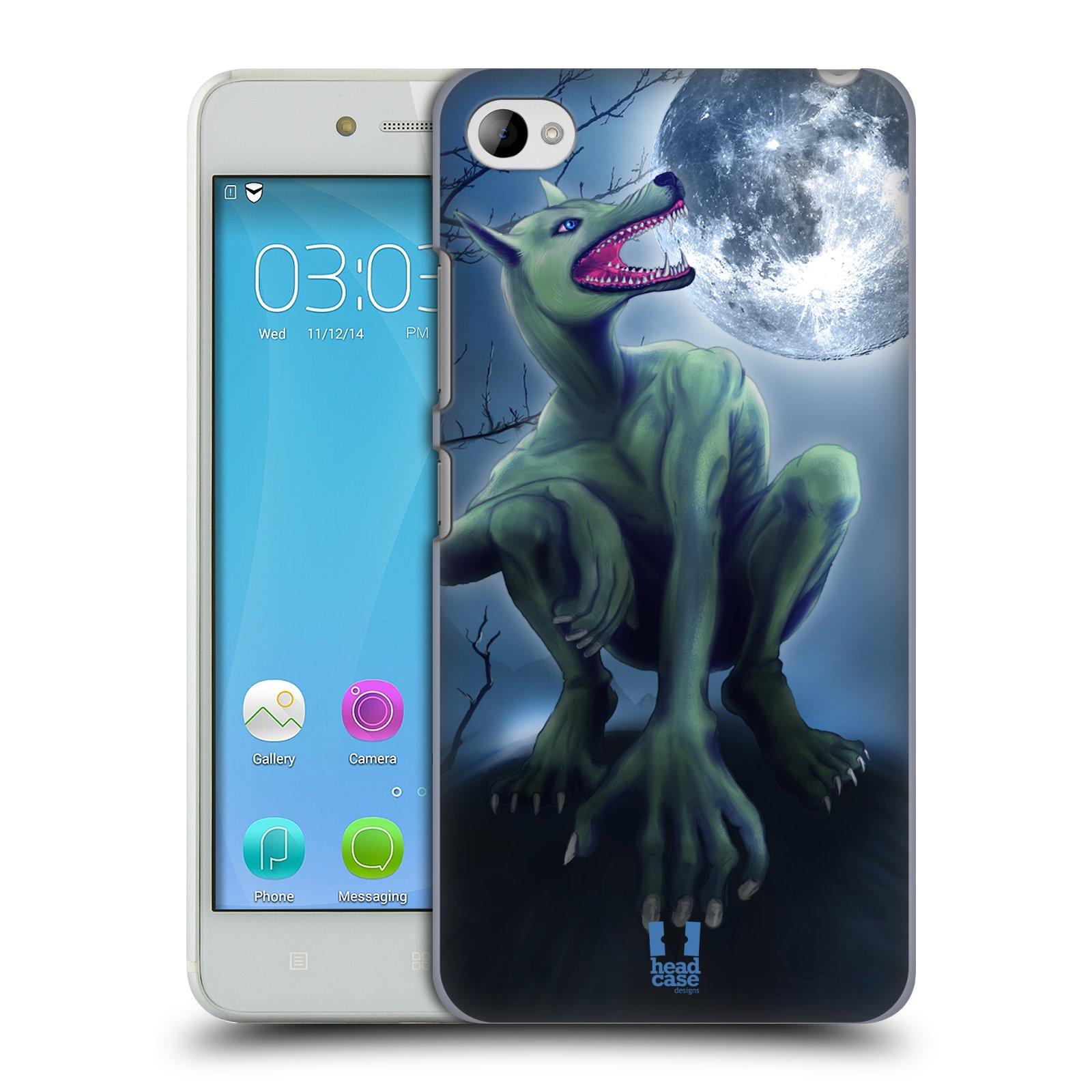 HEAD CASE pevný plastový obal na mobil LENOVO S90 vzor Pohádkové příšery VLKODLAK