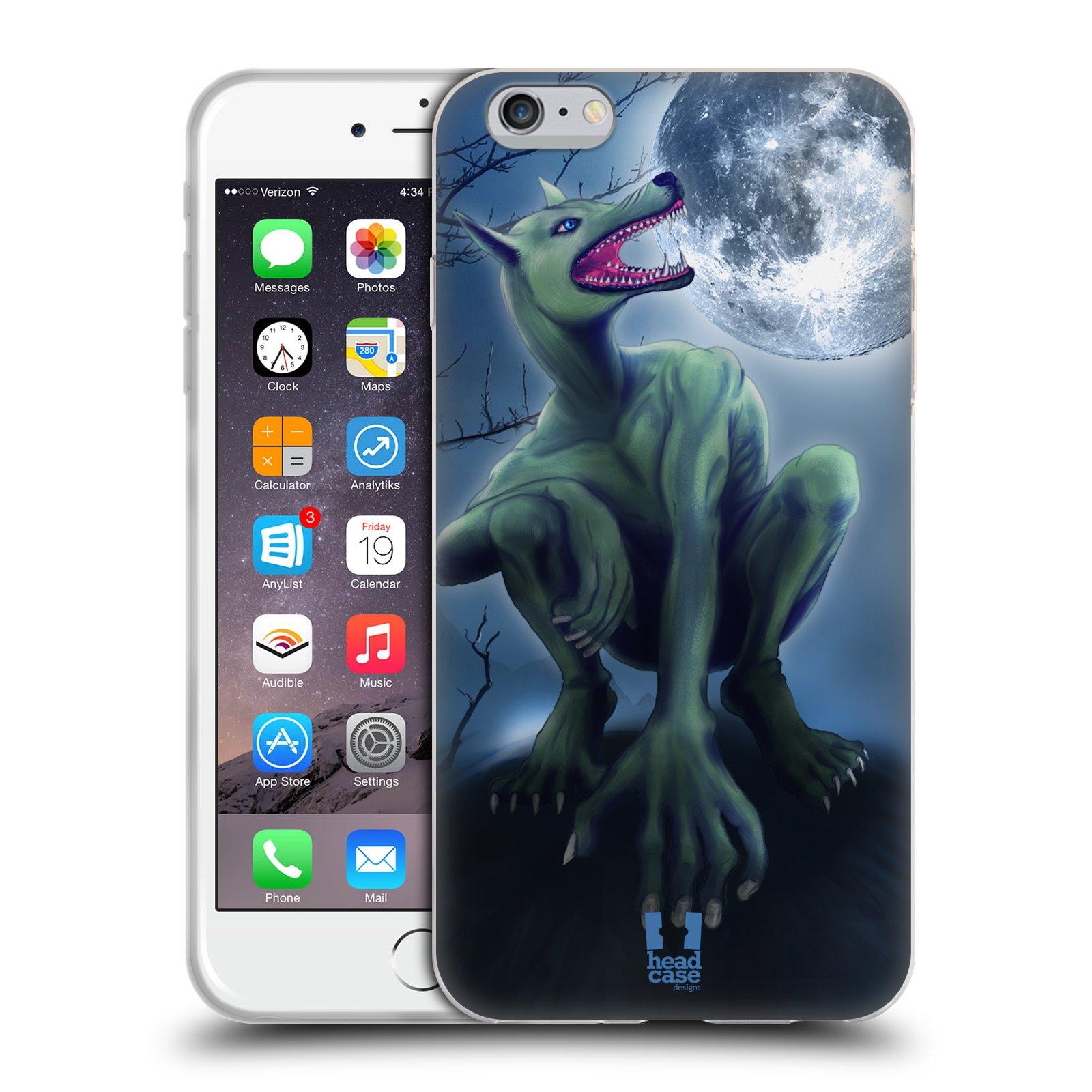 HEAD CASE silikonový obal na mobil Apple Iphone 6 PLUS/ 6S PLUS vzor Pohádkové příšery VLKODLAK