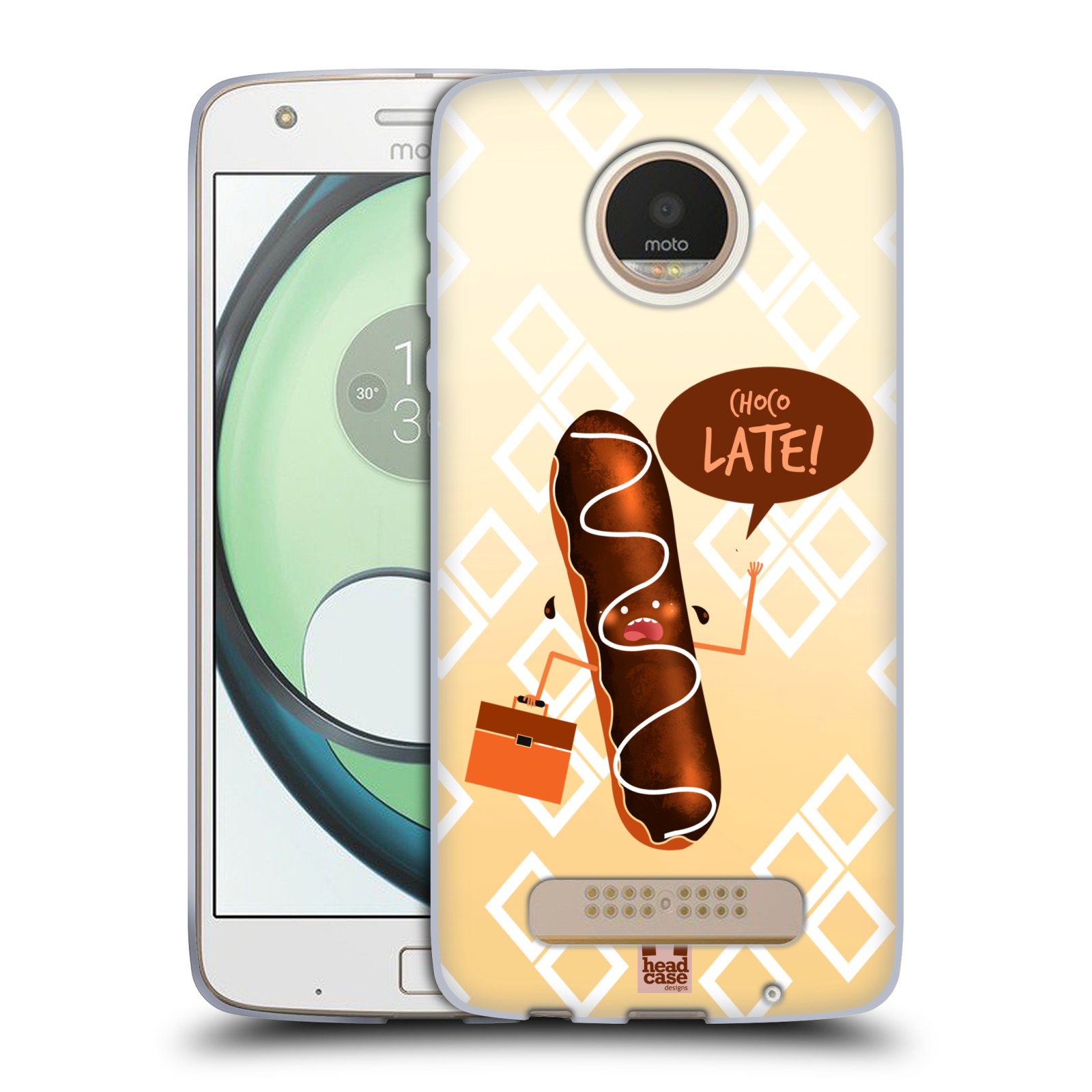 HEAD-CASE-DESIGNS-FOOD-PUN-SOFT-GEL-CASE-FOR-MOTO-Z-PLAY-Z-PLAY-DROID
