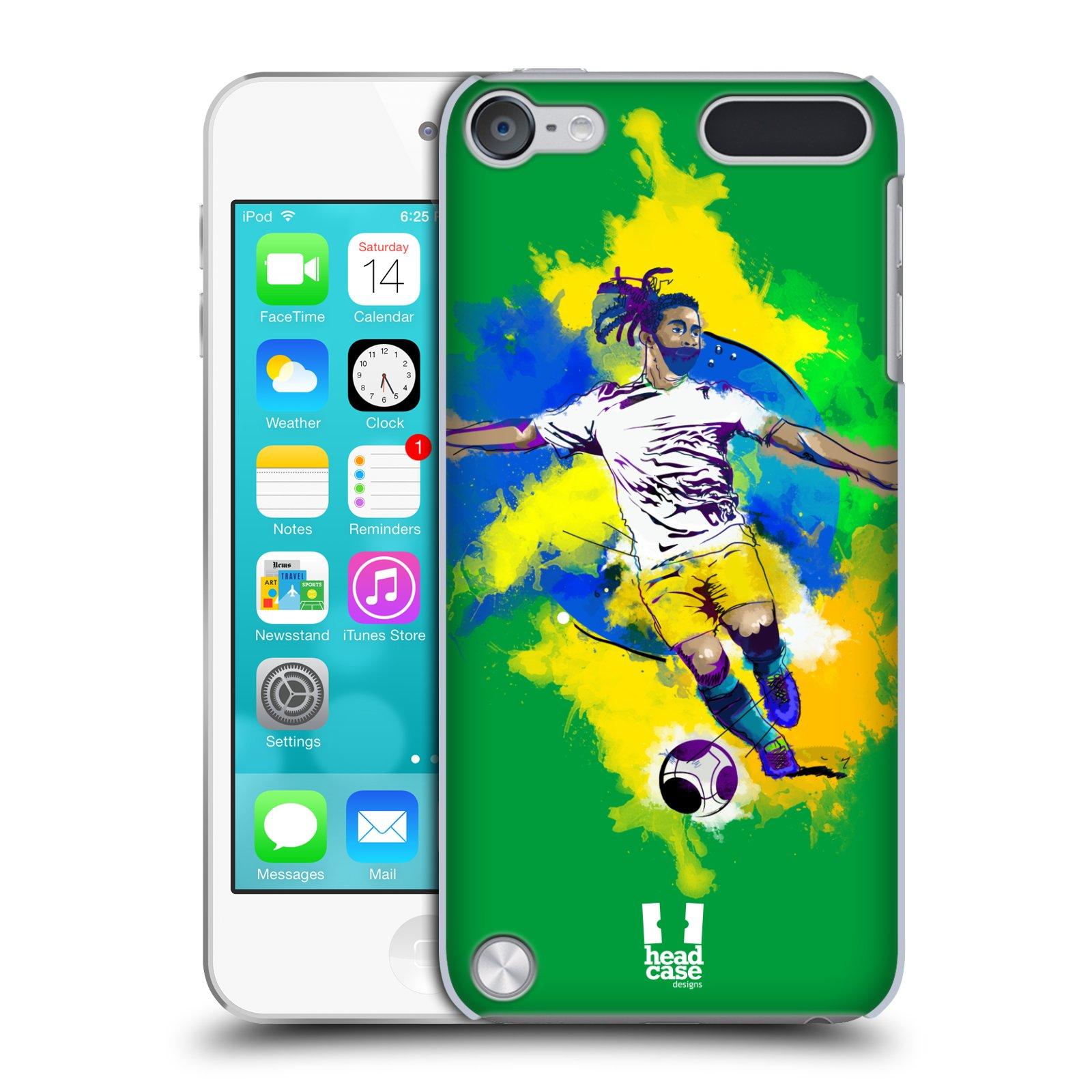 HEAD-CASE-FOOTBALL-Splash-SNAP-ON-CASE-PER-APPLE-IPOD-TOUCH-5G-5A-GENERAZIONE