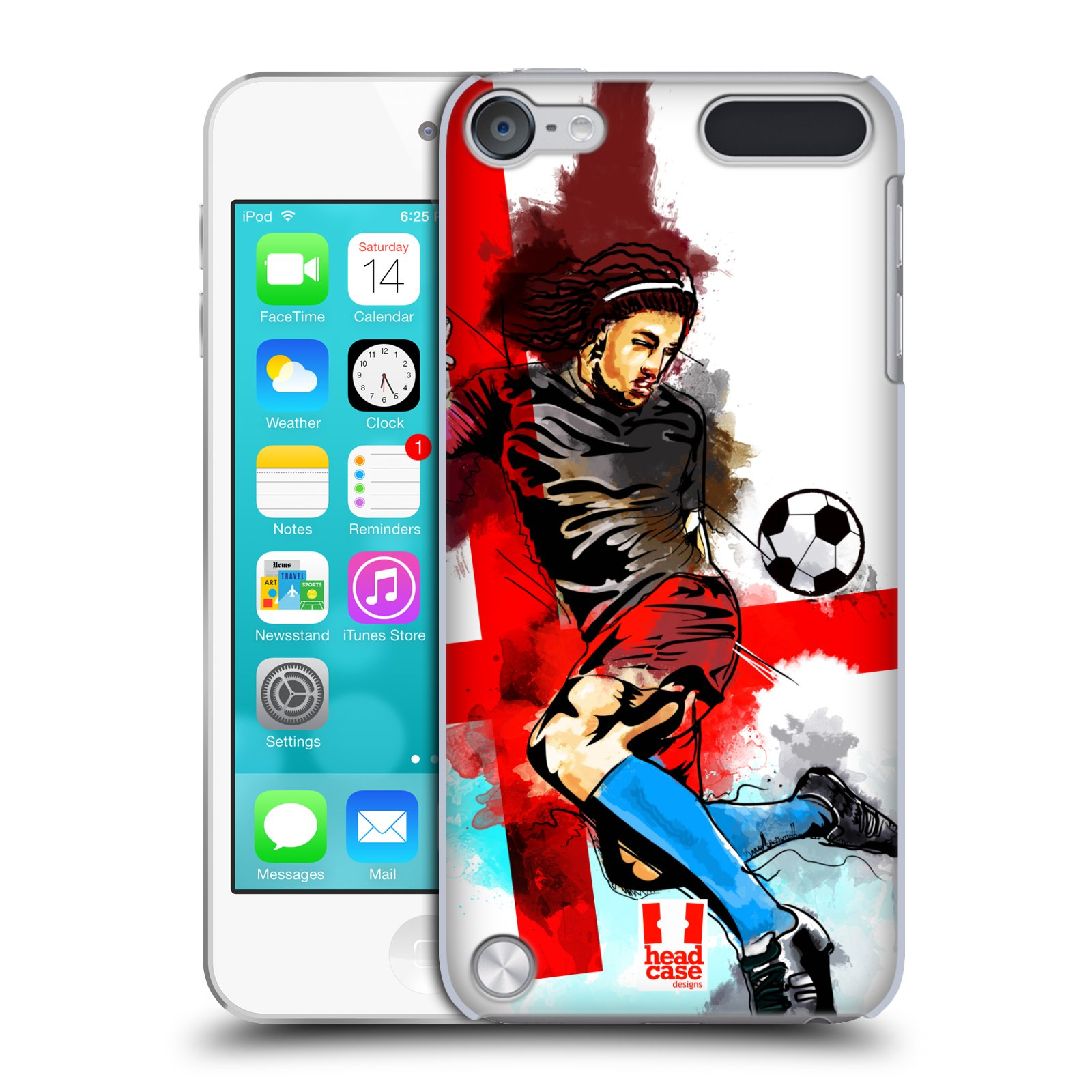 HEAD-CASE-FOOTBALL-SPLASH-SNAP-ON-CASE-FOR-APPLE-iPOD-TOUCH-5G-5TH-GEN