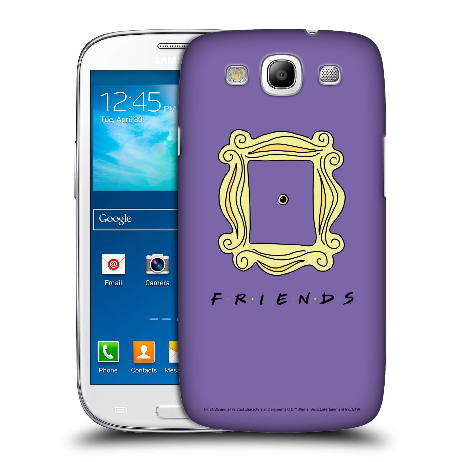 Pouzdro na mobil Samsung Galaxy S3 - HEAD CASE - Seriál Přátelé - rám obrazu kukátko
