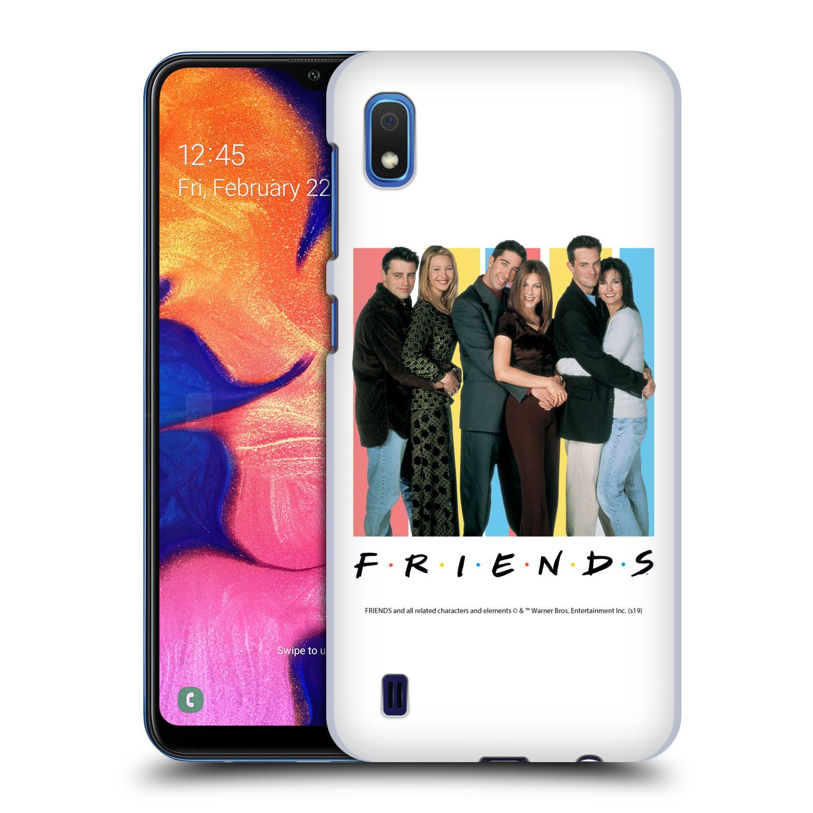 Pouzdro na mobil Samsung Galaxy A10 - HEAD CASE - Seriál Přátelé - Foto