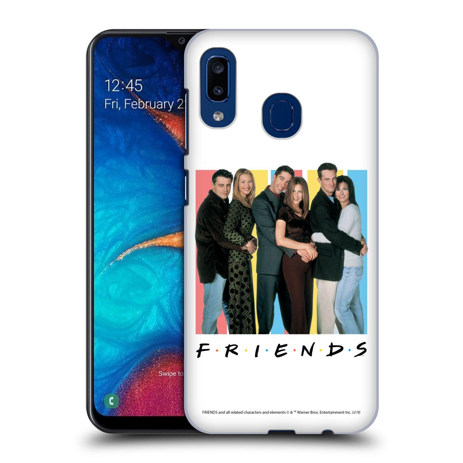 Pouzdro na mobil Samsung Galaxy A20 - HEAD CASE - Seriál Přátelé - Foto