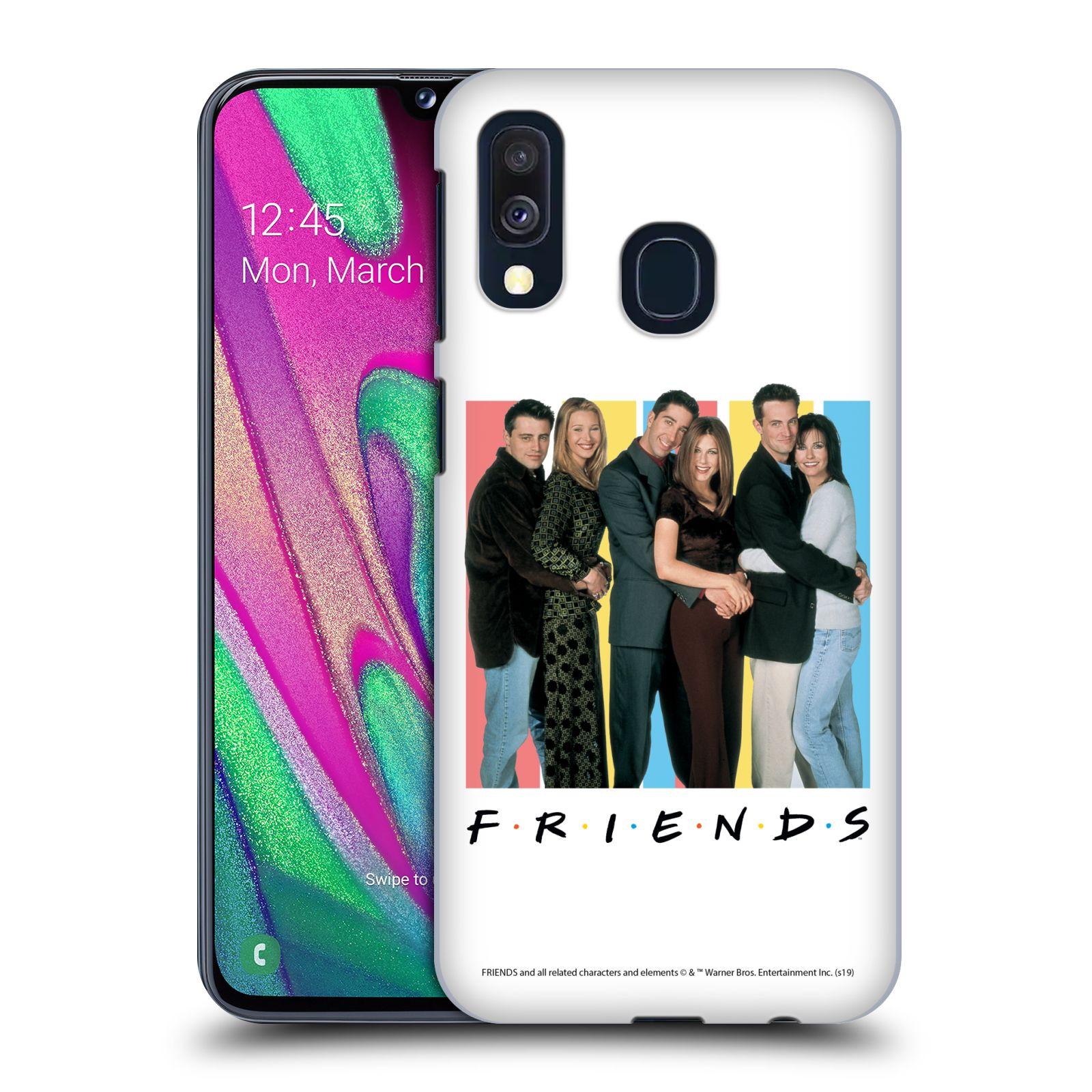 Pouzdro na mobil Samsung Galaxy A40 - HEAD CASE - Seriál Přátelé - Foto