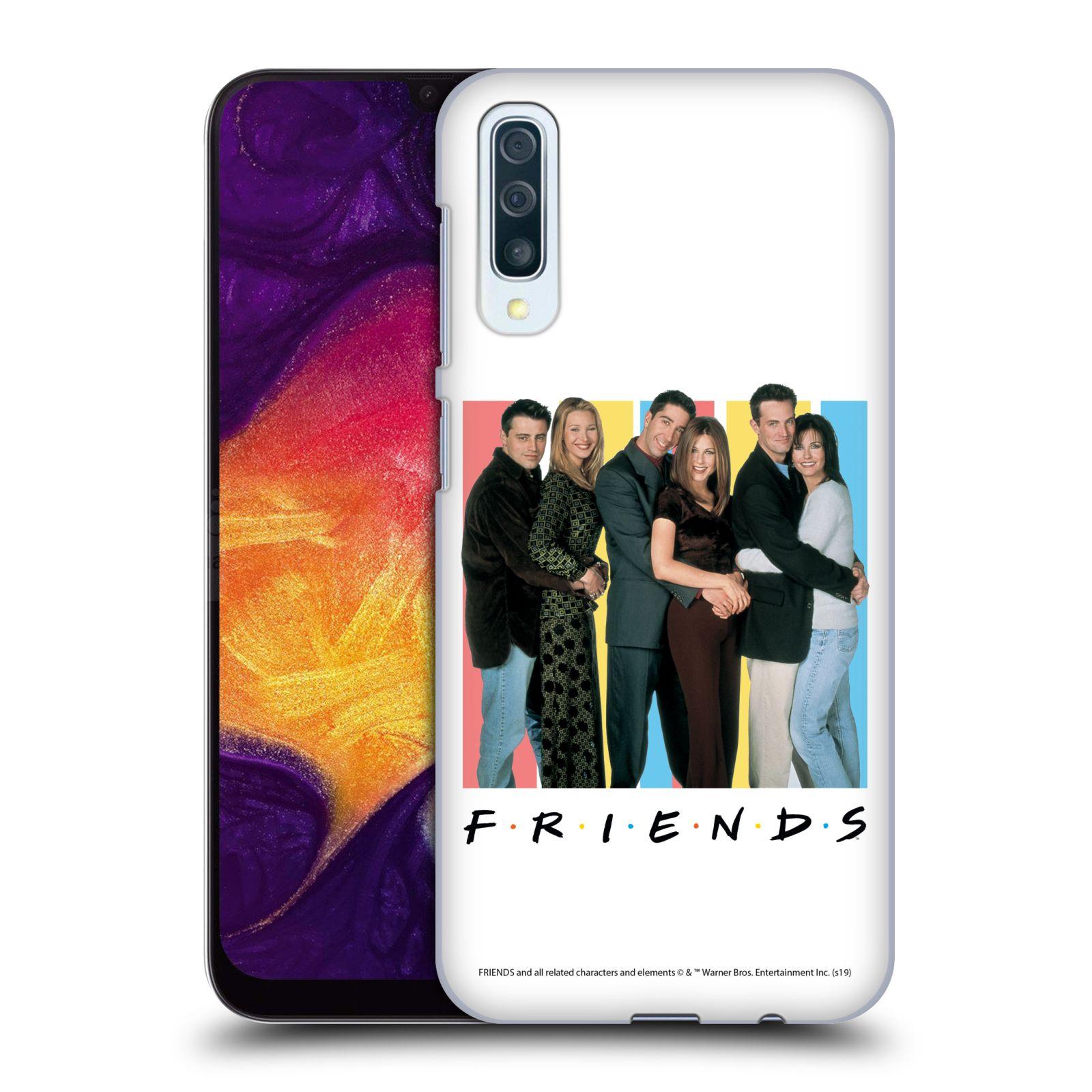 Pouzdro na mobil Samsung Galaxy A50 - HEAD CASE - Seriál Přátelé - Foto