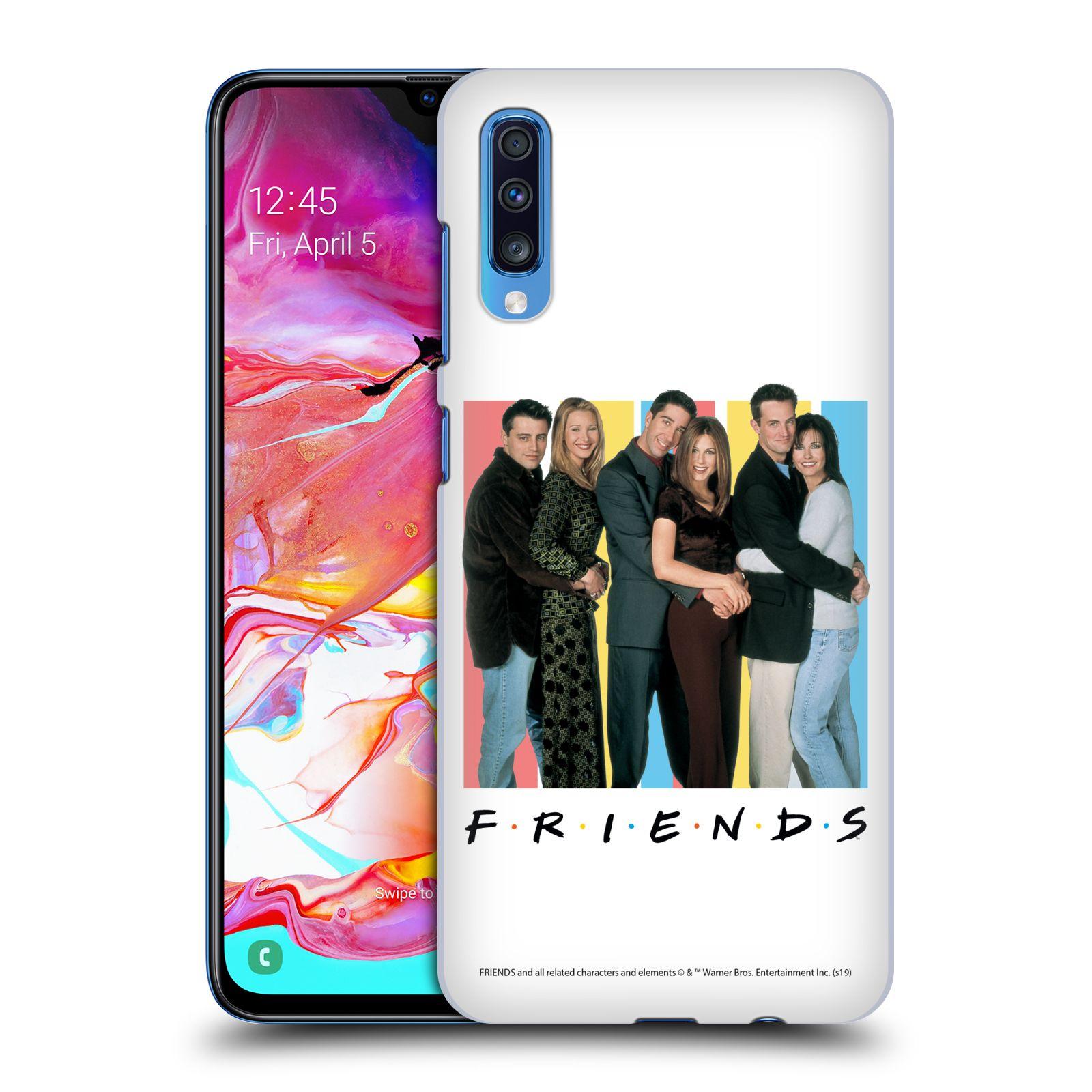 Pouzdro na mobil Samsung Galaxy A70 - HEAD CASE - Seriál Přátelé - Foto