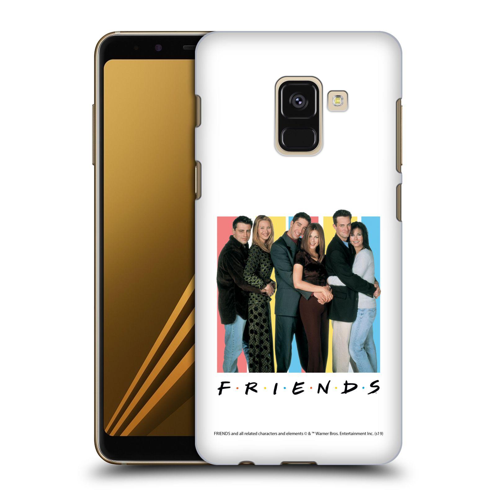 Pouzdro na mobil Samsung Galaxy A8+ 2018, A8 PLUS 2018 - HEAD CASE - Seriál Přátelé - Foto