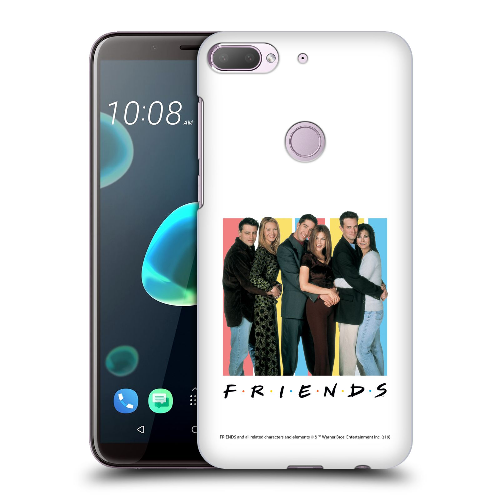 Pouzdro na mobil HTC Desire 12+ / Desire 12+ DUAL SIM - HEAD CASE - Seriál Přátelé - Foto