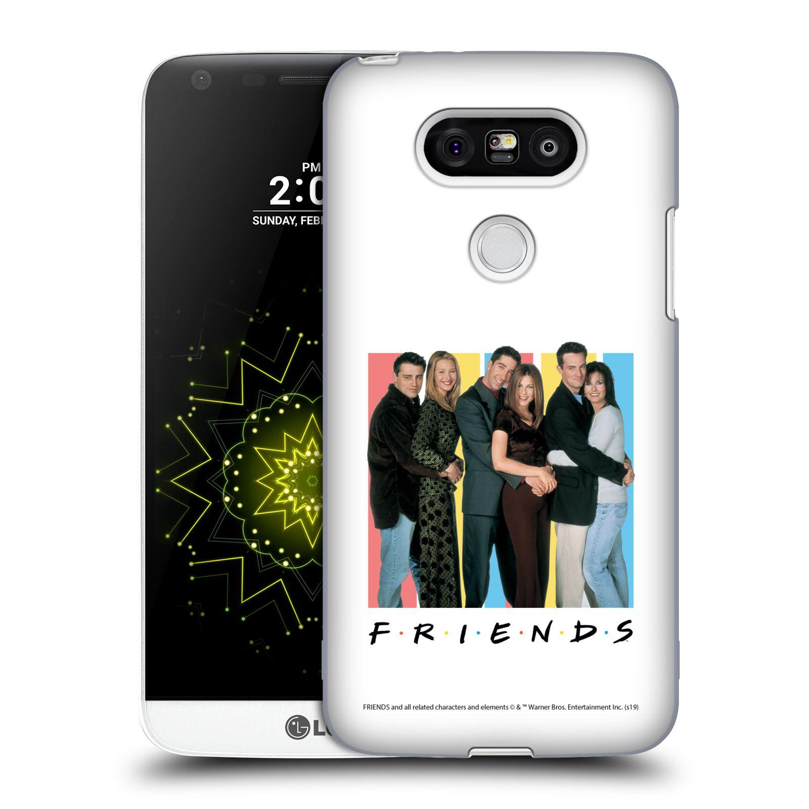 Pouzdro na mobil LG G5 - HEAD CASE - Seriál Přátelé - Foto