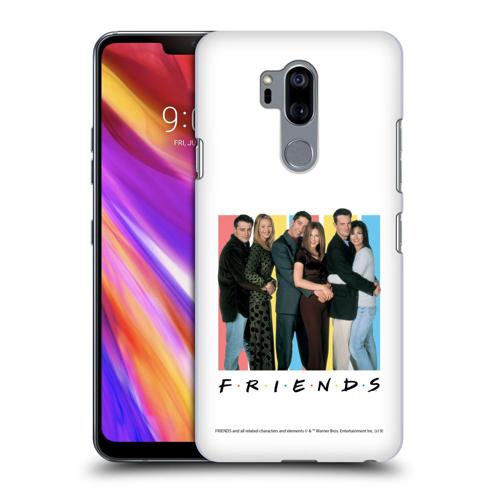 Pouzdro na mobil LG G7  ThinQ - HEAD CASE - Seriál Přátelé - Foto