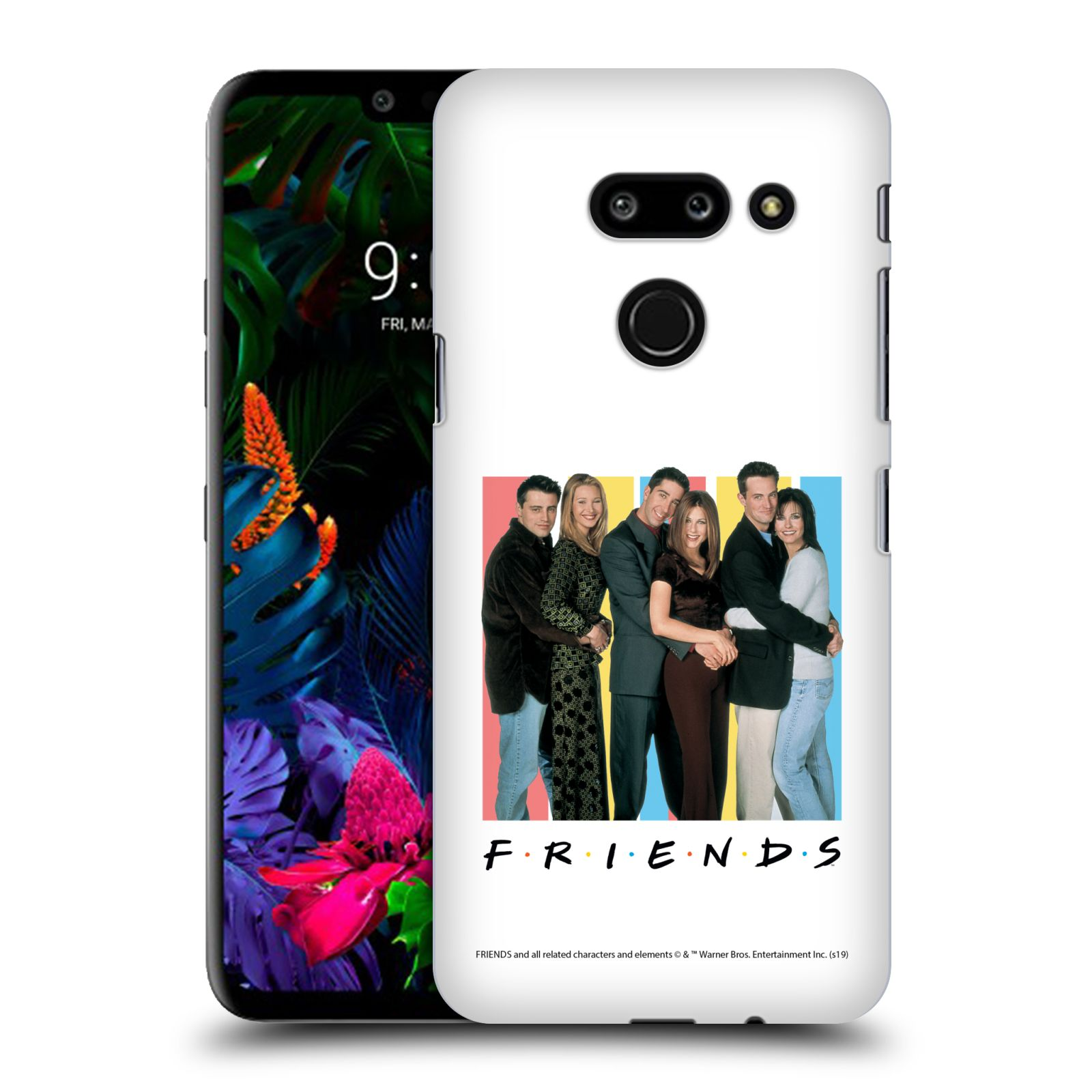 Pouzdro na mobil LG G8 ThinQ - HEAD CASE - Seriál Přátelé - Foto