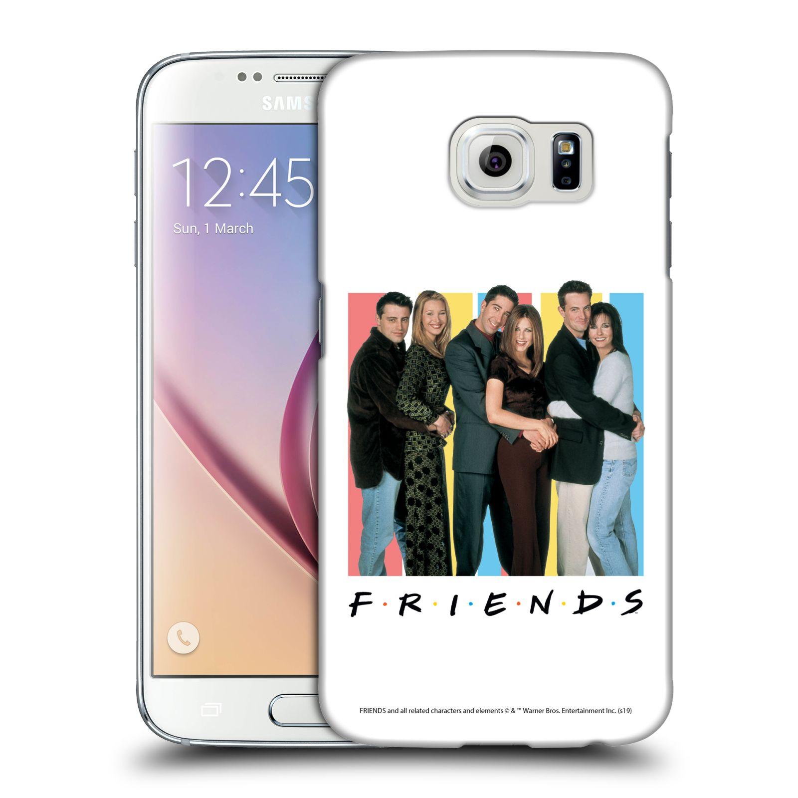 Pouzdro na mobil Samsung Galaxy S6 - HEAD CASE - Seriál Přátelé - Foto