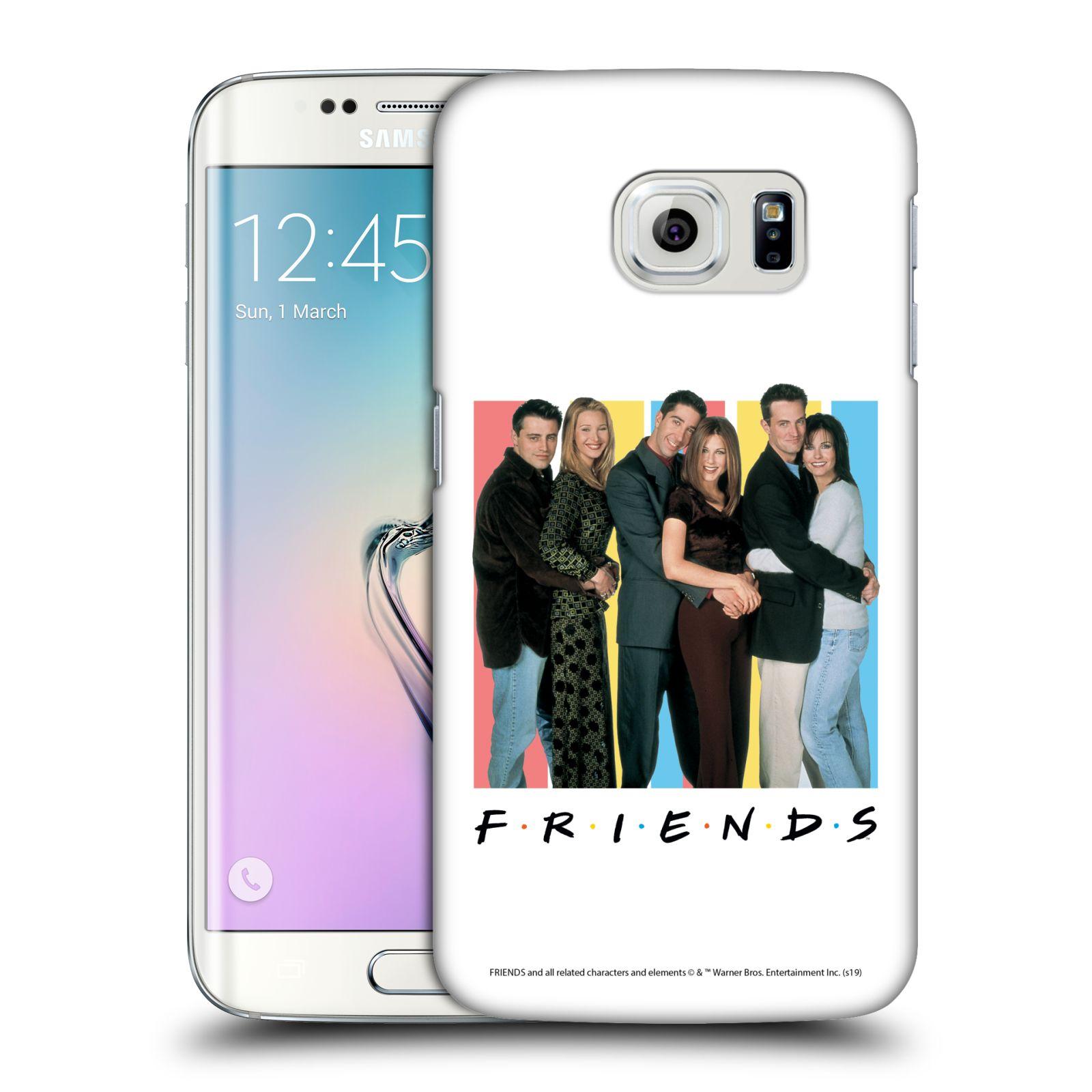 Pouzdro na mobil Samsung Galaxy S6 EDGE - HEAD CASE - Seriál Přátelé - Foto