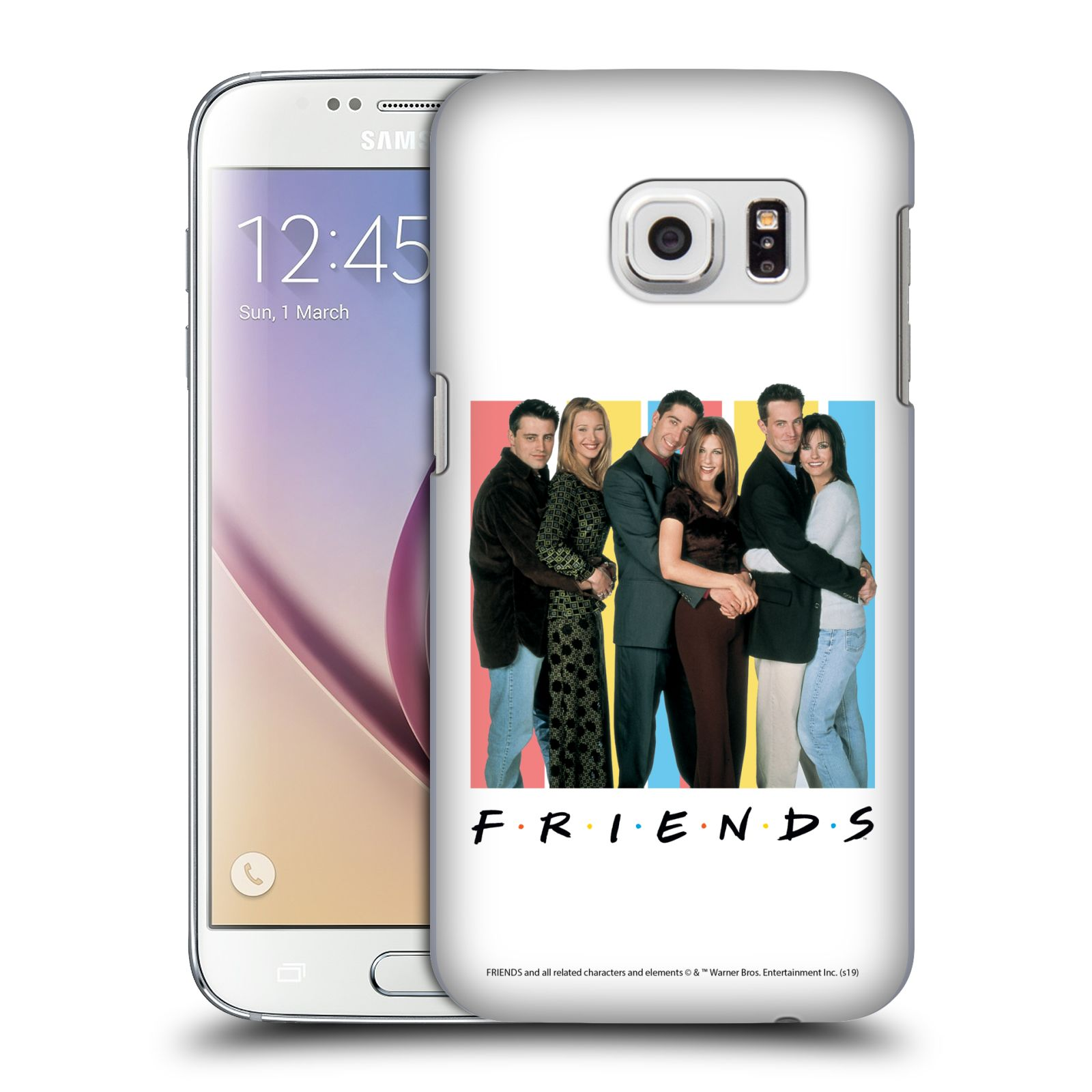 Pouzdro na mobil Samsung Galaxy S7 - HEAD CASE - Seriál Přátelé - Foto