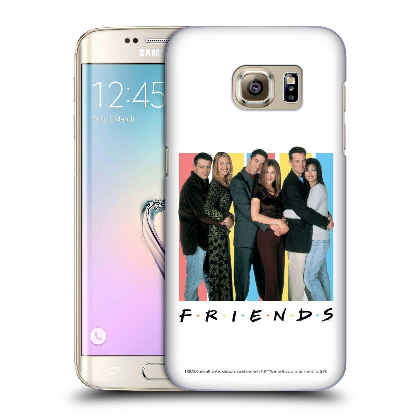 Pouzdro na mobil Samsung Galaxy S7 EDGE - HEAD CASE - Seriál Přátelé - Foto