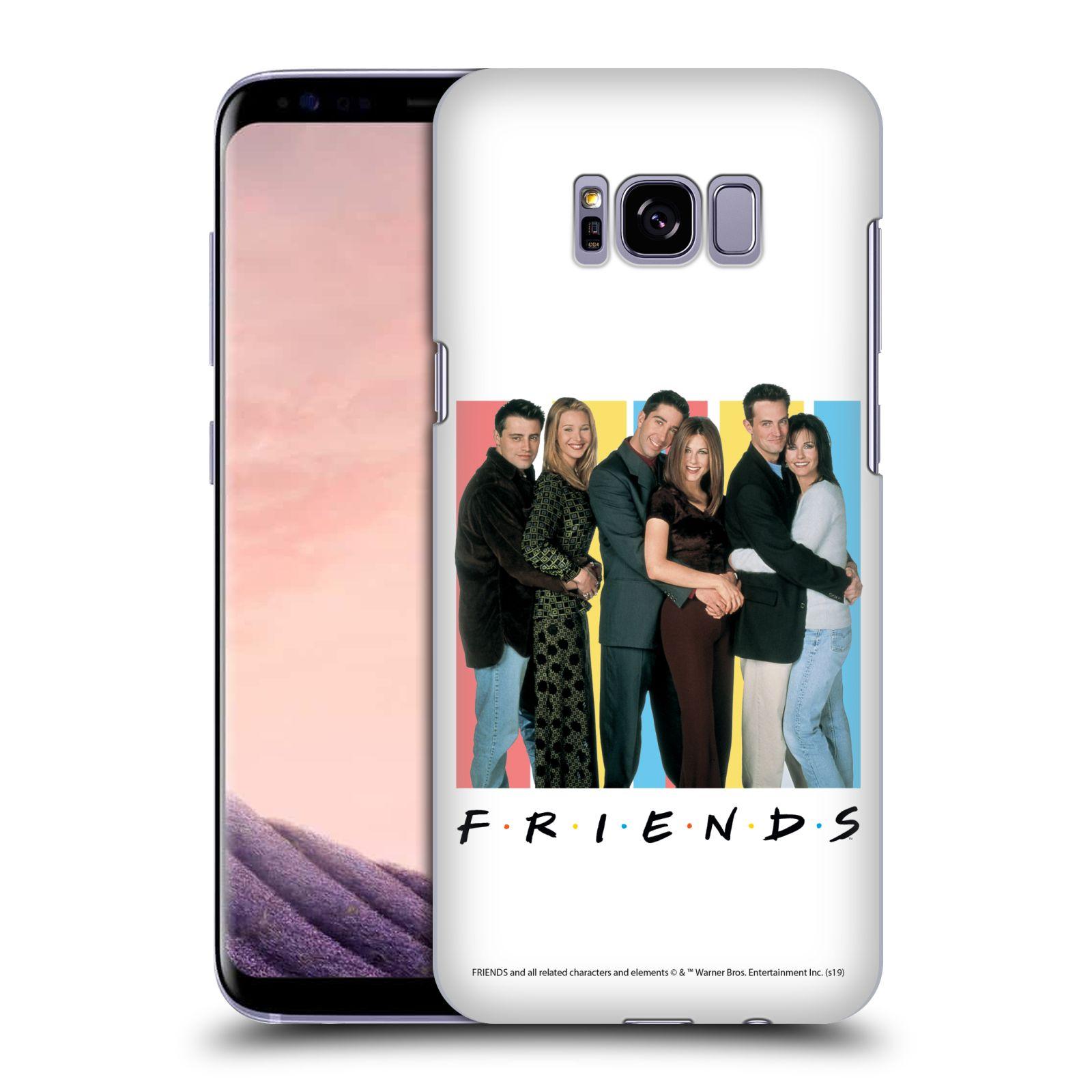 Pouzdro na mobil Samsung Galaxy S8 PLUS - HEAD CASE - Seriál Přátelé - Foto