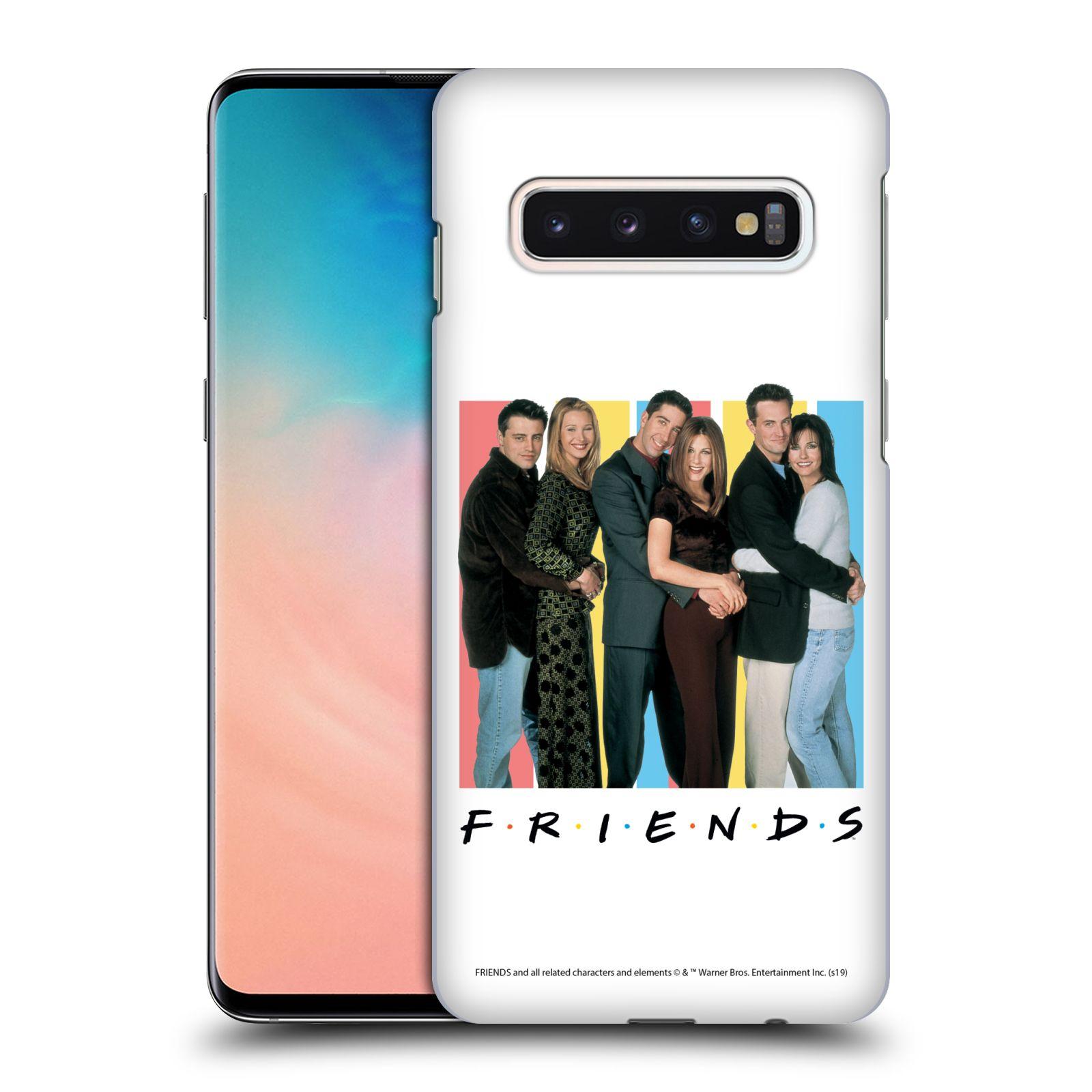 Pouzdro na mobil Samsung Galaxy S10 - HEAD CASE - Seriál Přátelé - Foto
