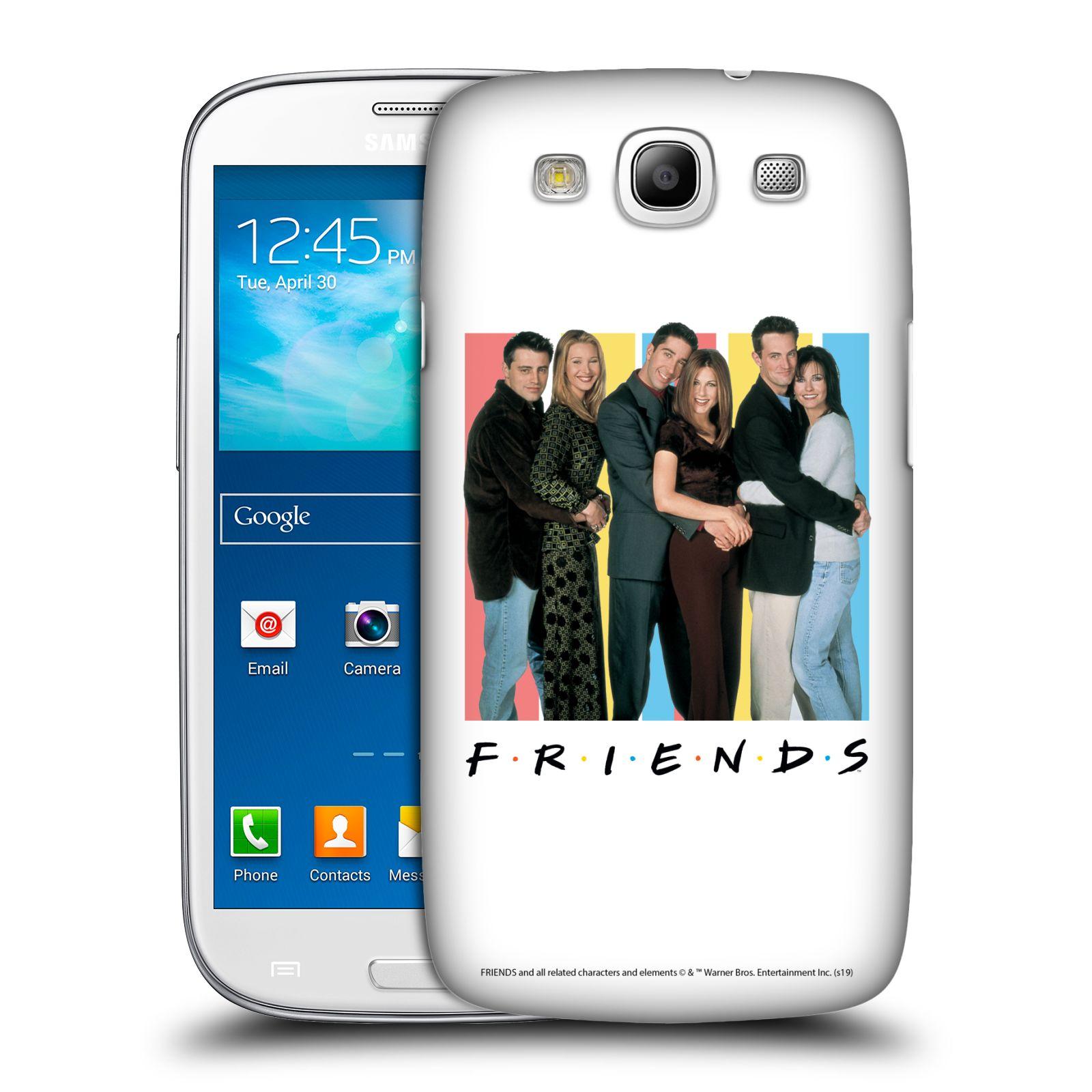 Pouzdro na mobil Samsung Galaxy S3 - HEAD CASE - Seriál Přátelé - Foto