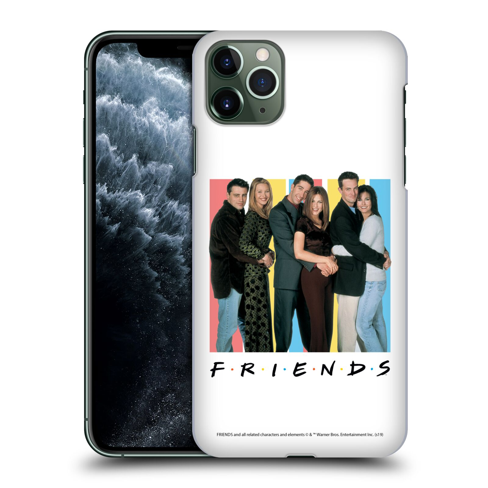 Pouzdro na mobil Apple Iphone 11 PRO MAX - HEAD CASE - Seriál Přátelé - Foto