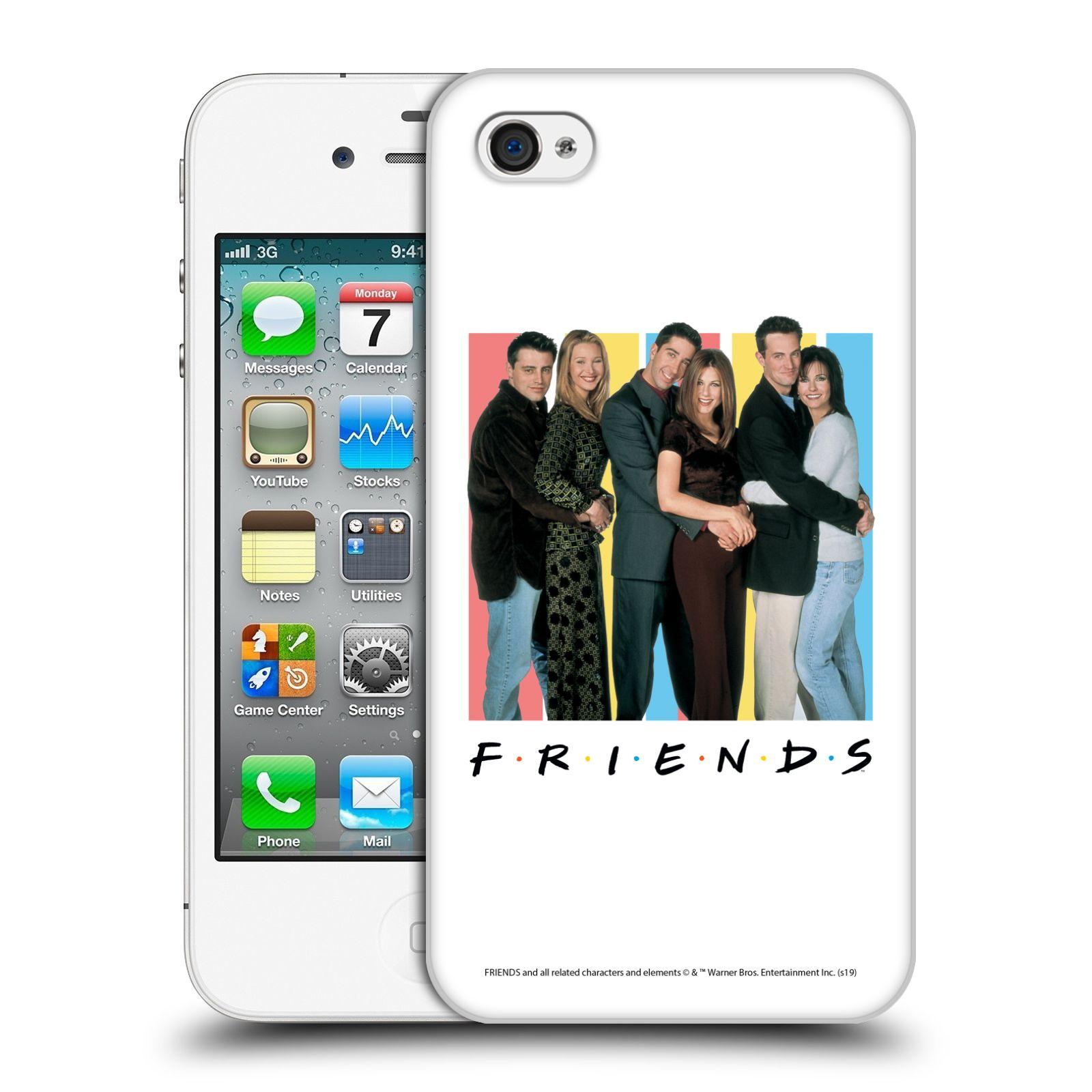Pouzdro na mobil Apple Iphone 4/4S - HEAD CASE - Seriál Přátelé - Foto