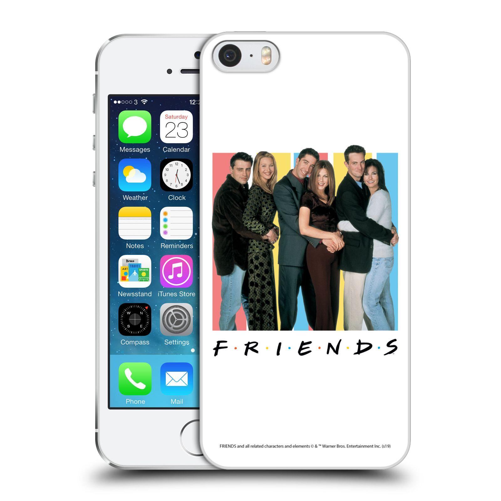 Pouzdro na mobil Apple Iphone 5/5S - HEAD CASE - Seriál Přátelé - Foto
