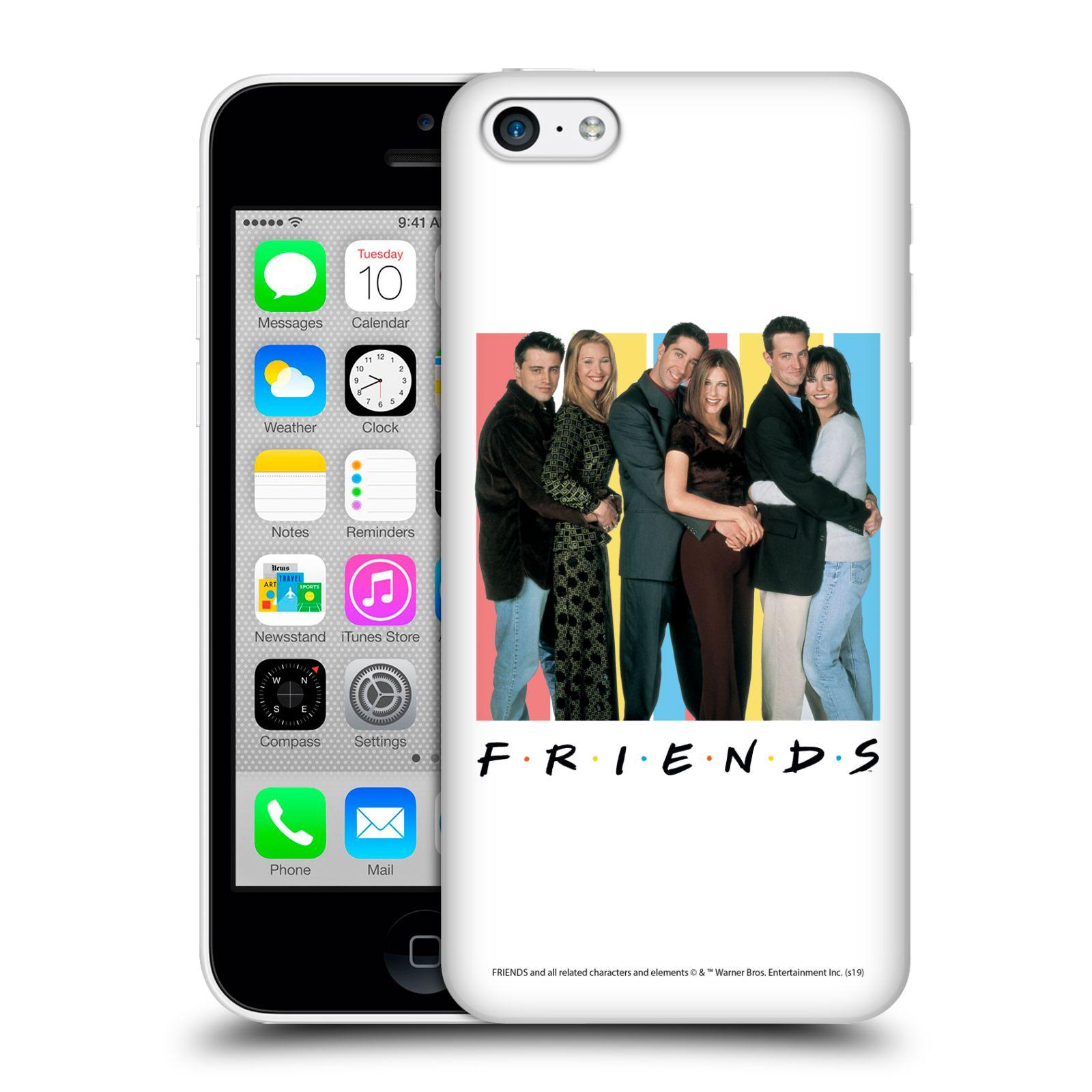 Pouzdro na mobil Apple Iphone 5C - HEAD CASE - Seriál Přátelé - Foto