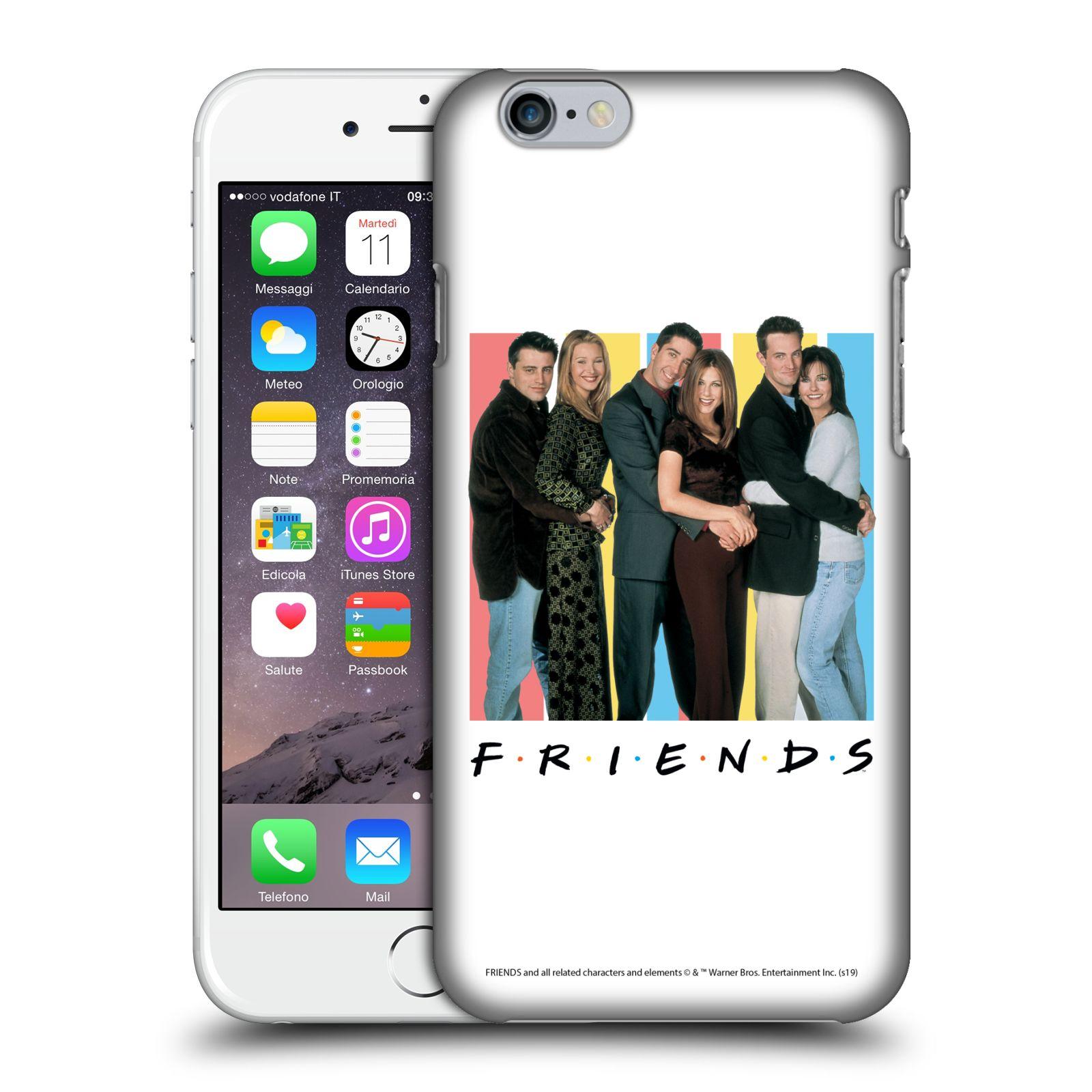 Pouzdro na mobil Apple Iphone 6/6S - HEAD CASE - Seriál Přátelé - Foto
