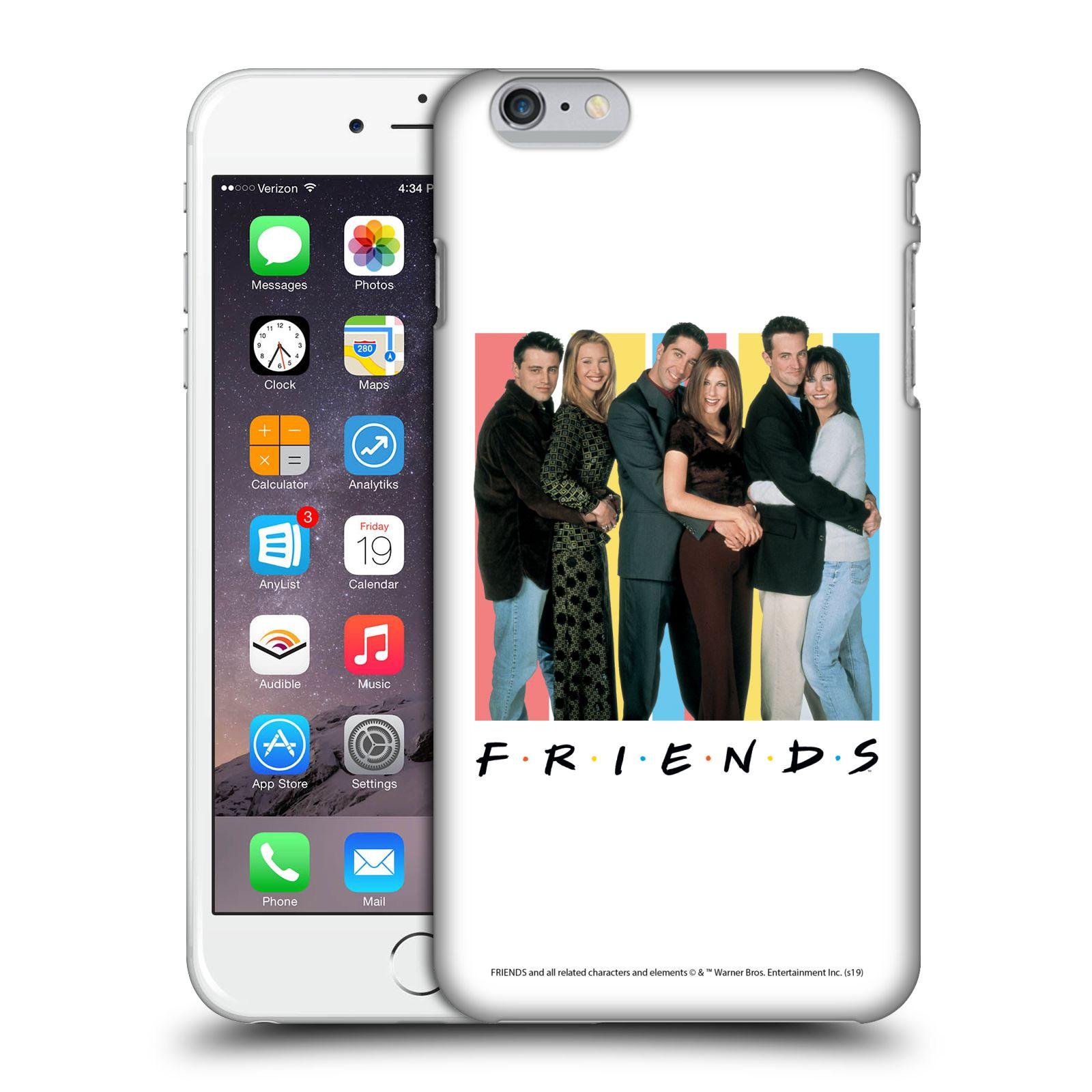 Pouzdro na mobil Apple Iphone 6/6S PLUS - HEAD CASE - Seriál Přátelé - Foto